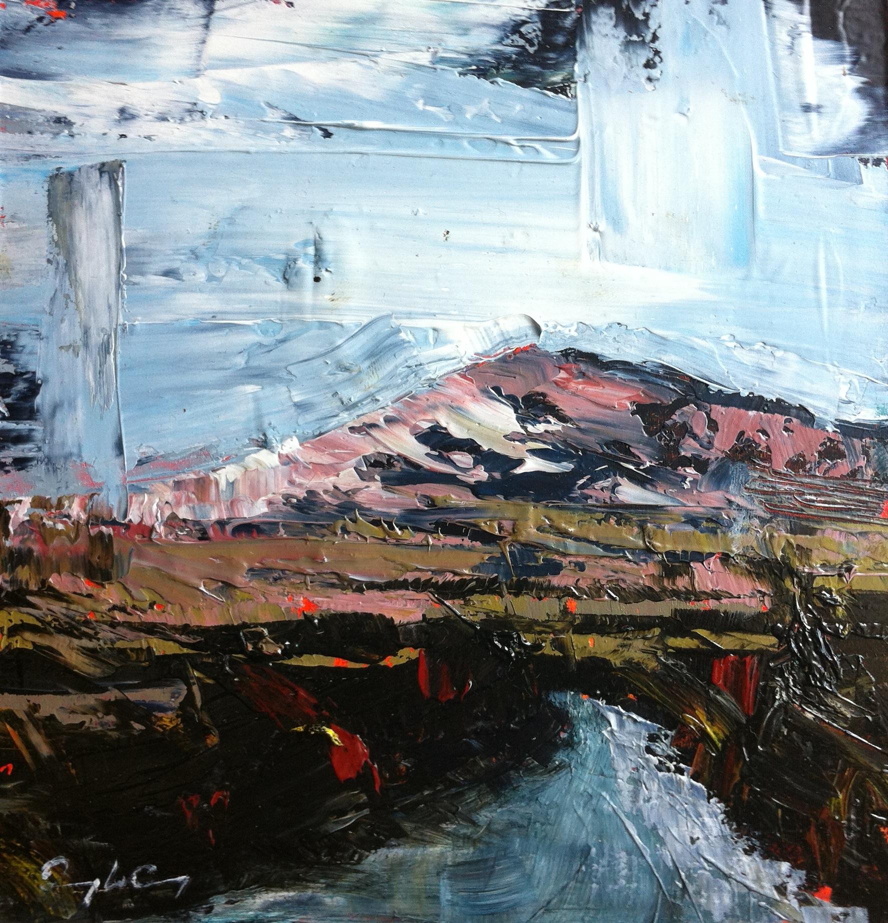 Oil sketch - Mount Gabriel series