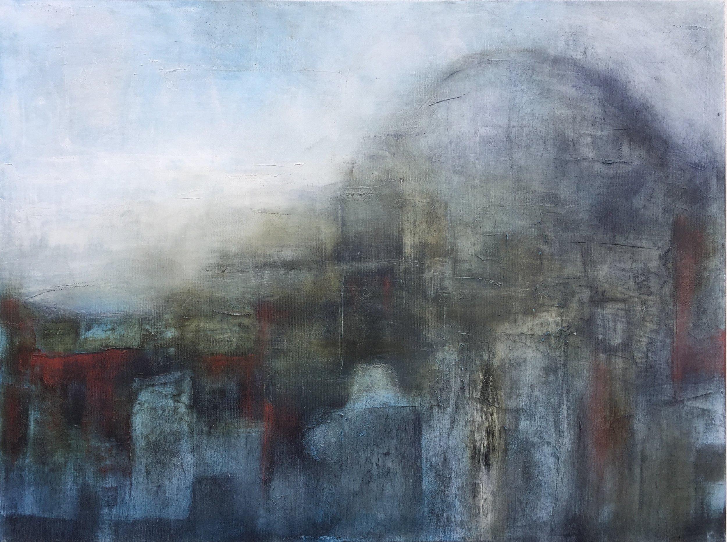Chalice Stone  Oil on canvas,Painting 76cm x 101cm. Frame 83cm x 109cm. €2,200
