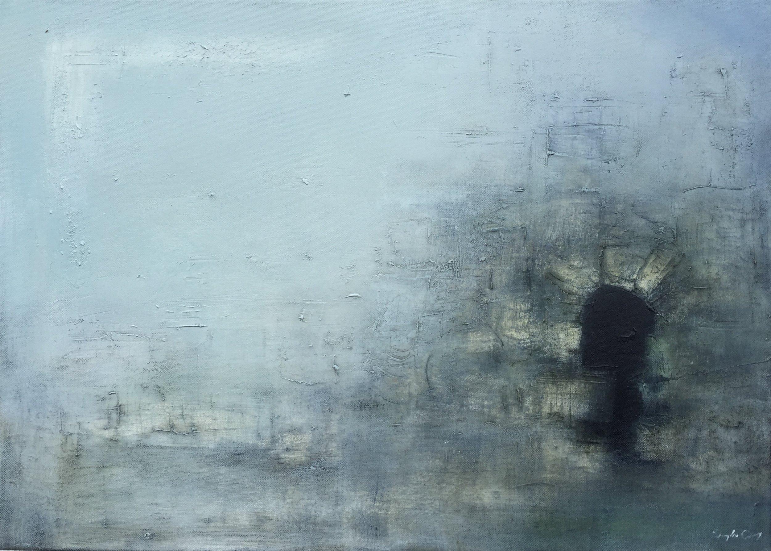 Last Bastion   oil on canvas, painting 50cm x 70cm, frame 55cm x 75cm, €sold