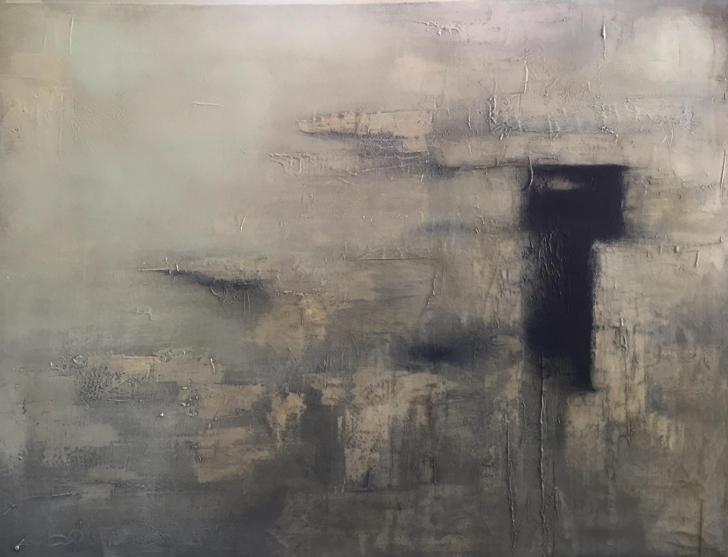 Epoch, Skellig Vl  Oil on canvas. Painting 76cm x 101cm. Frame 83cm x 109cm. €2,200