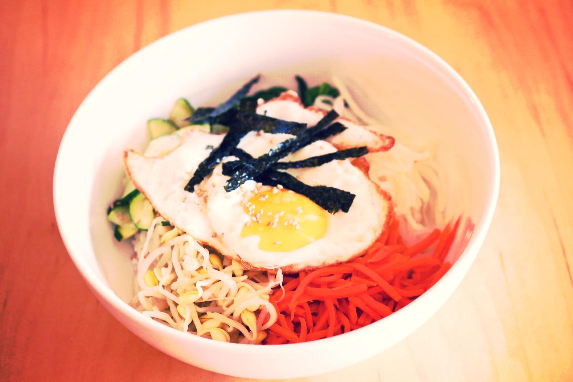 St Louis Cardinals would love Kimchi Kitchen's Bibimbap