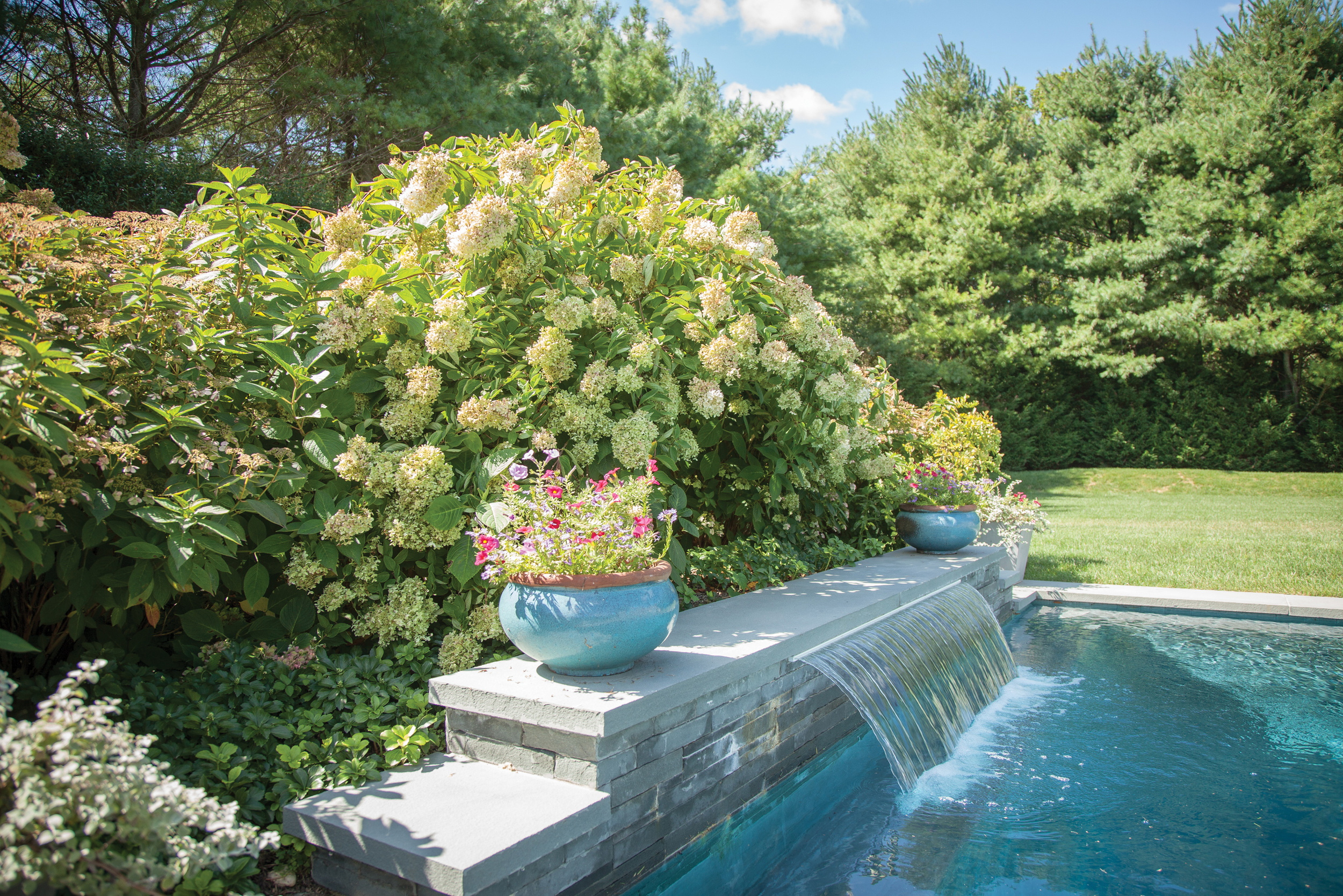 Proper pH Pools - Silver, Water Feature with Pool