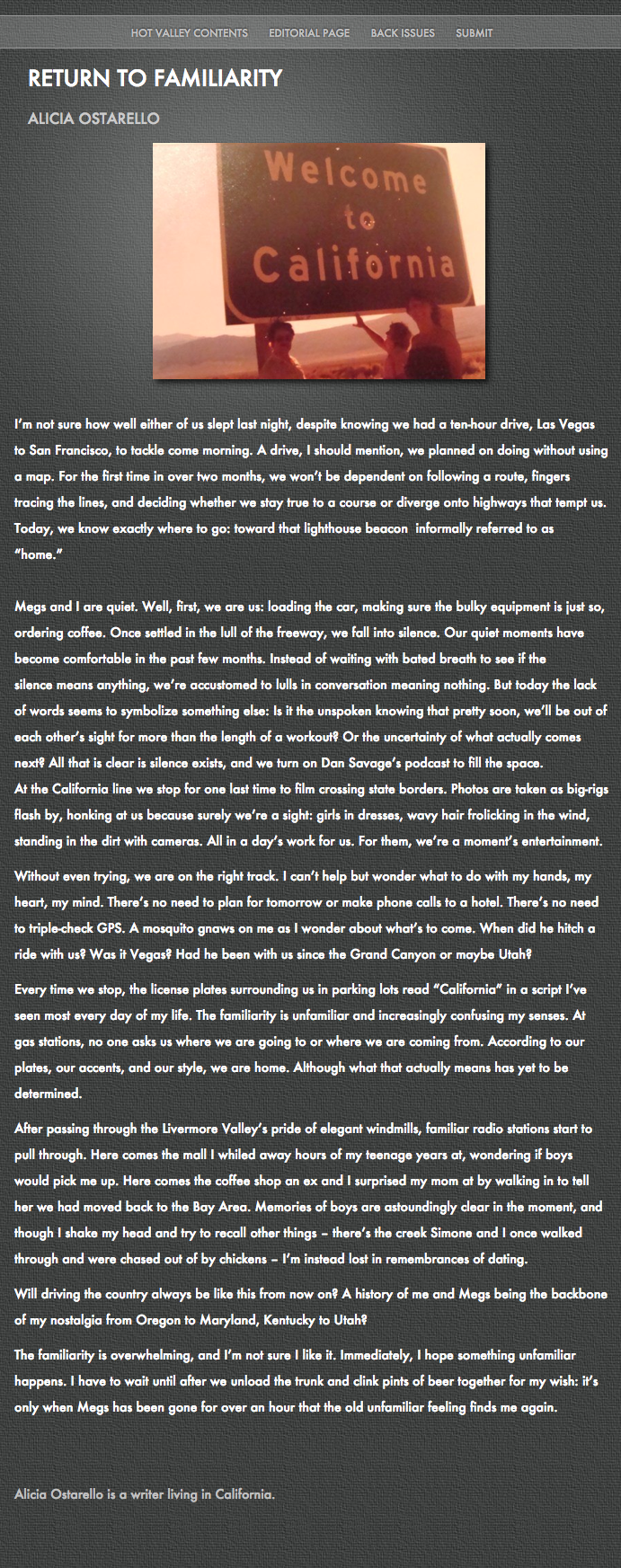 Publication - Hot Valley Press - Return to Familiarity.png