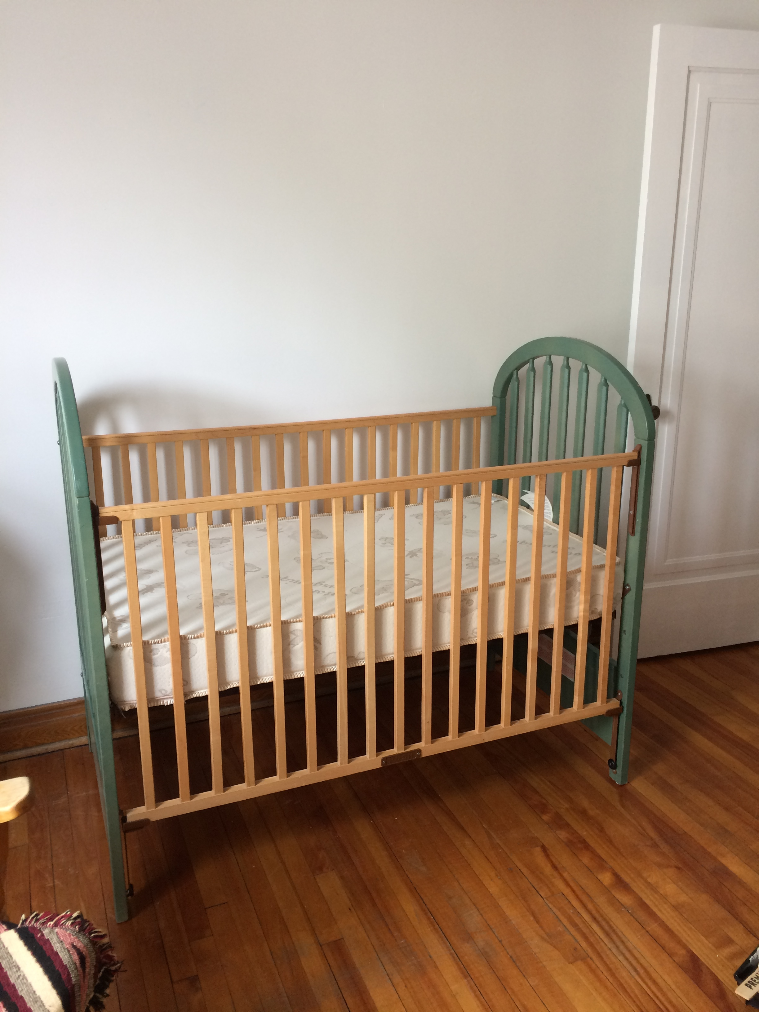 Baby room: Crib before