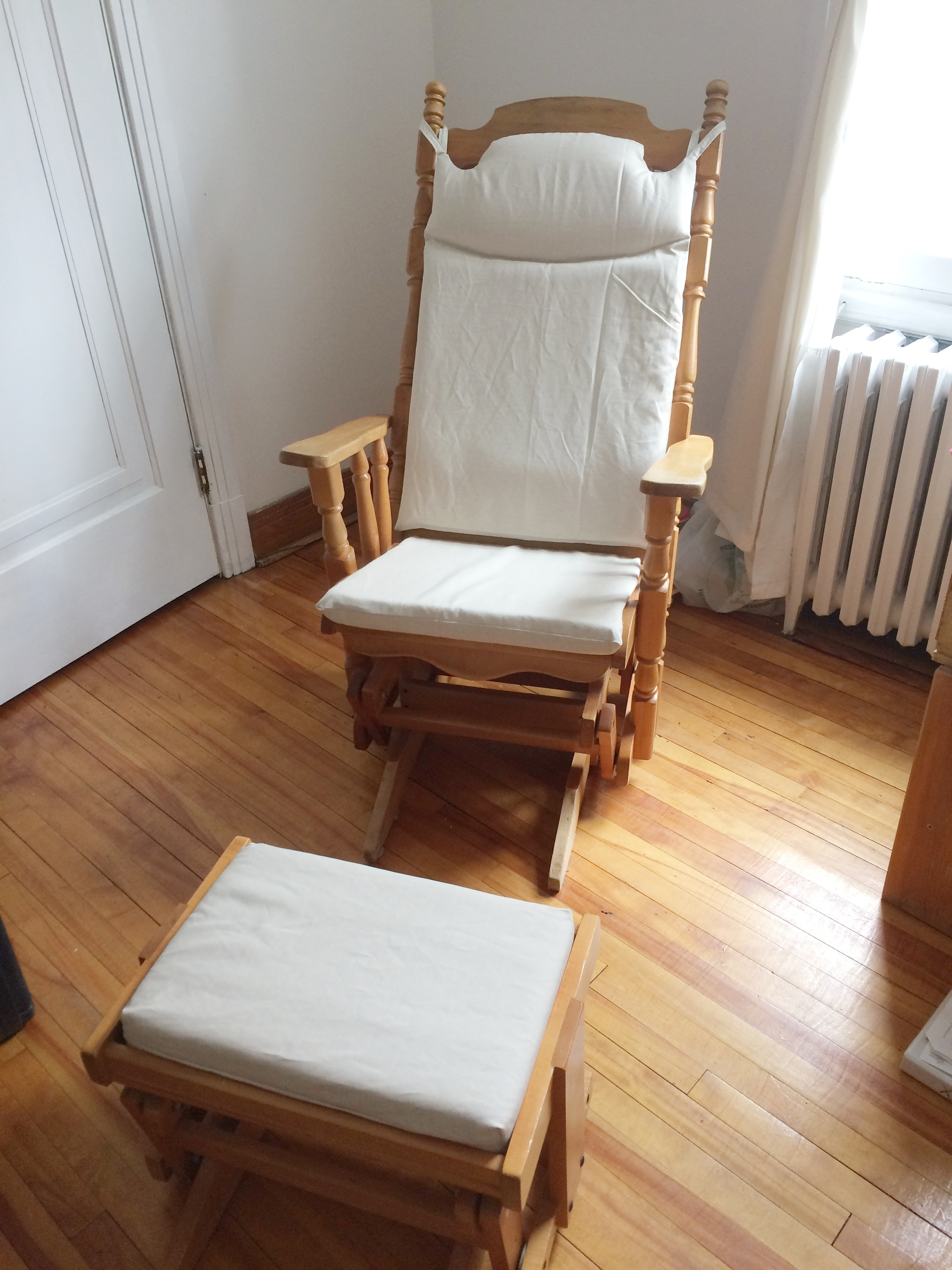 Baby room: Rocking chair after