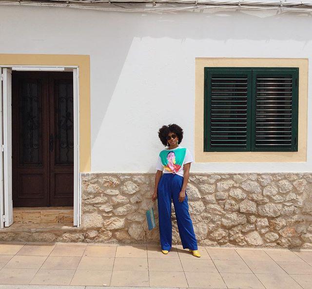 If you look through my Instagram closely, I've been obsessed with blue and yellow. Maybe it's a subtle representation of 🇧🇧🇧🇧🇧🇧 • • • • • •  #blackgirlsblog #fashionblogger #ibizafeeling #ibizafashion #holidaywear #blackgirlskillingit #styleedit #caribbeanblogger #islandting