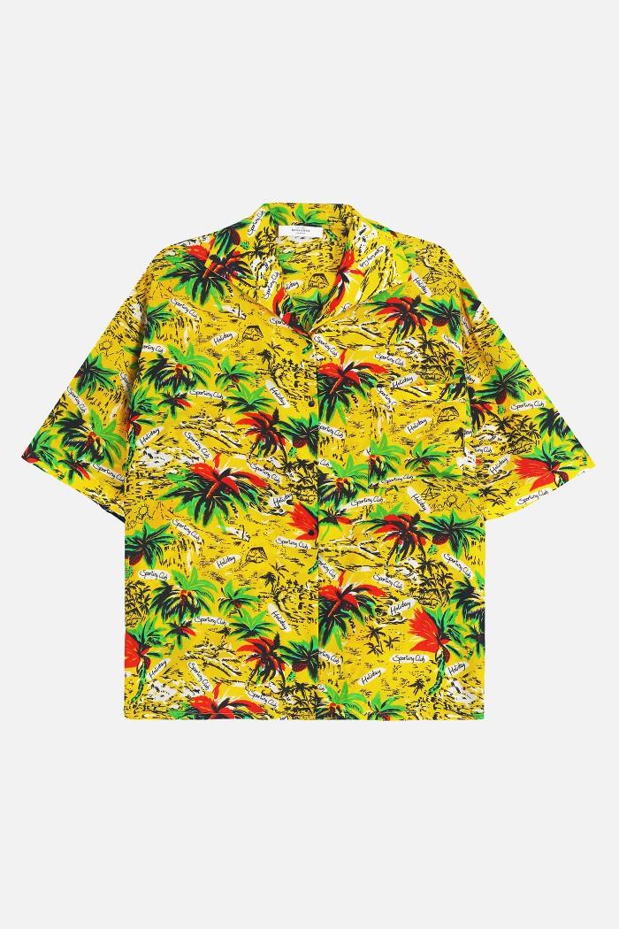 Roseanna Cuba Palm Shirt