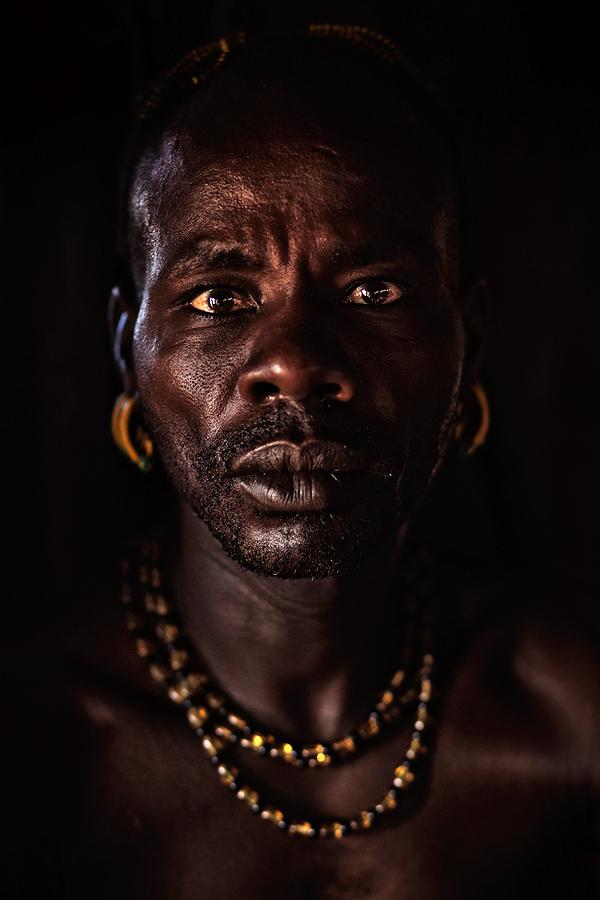 Portrait of Girma - a Hamer man
