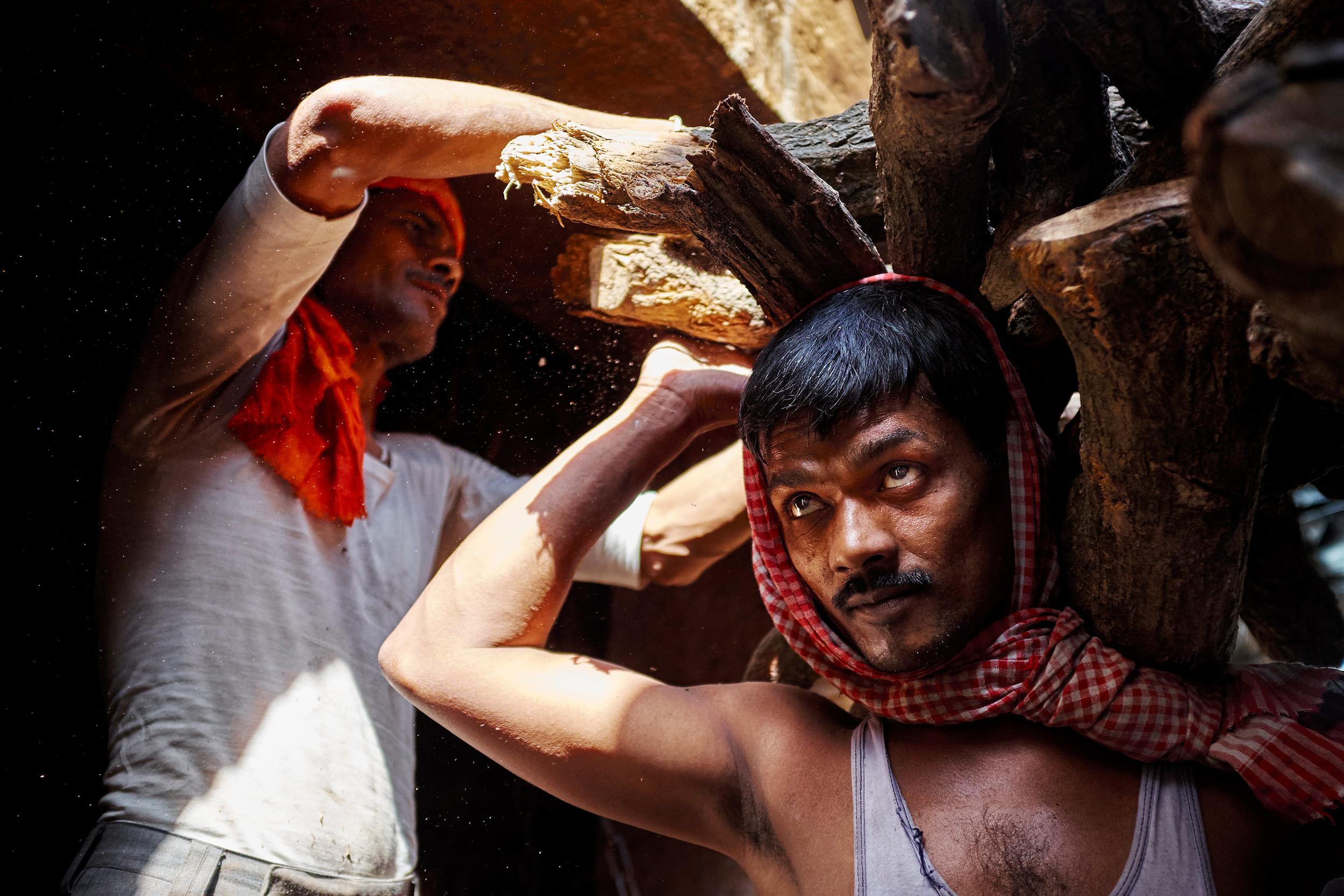 Varanasi woodman