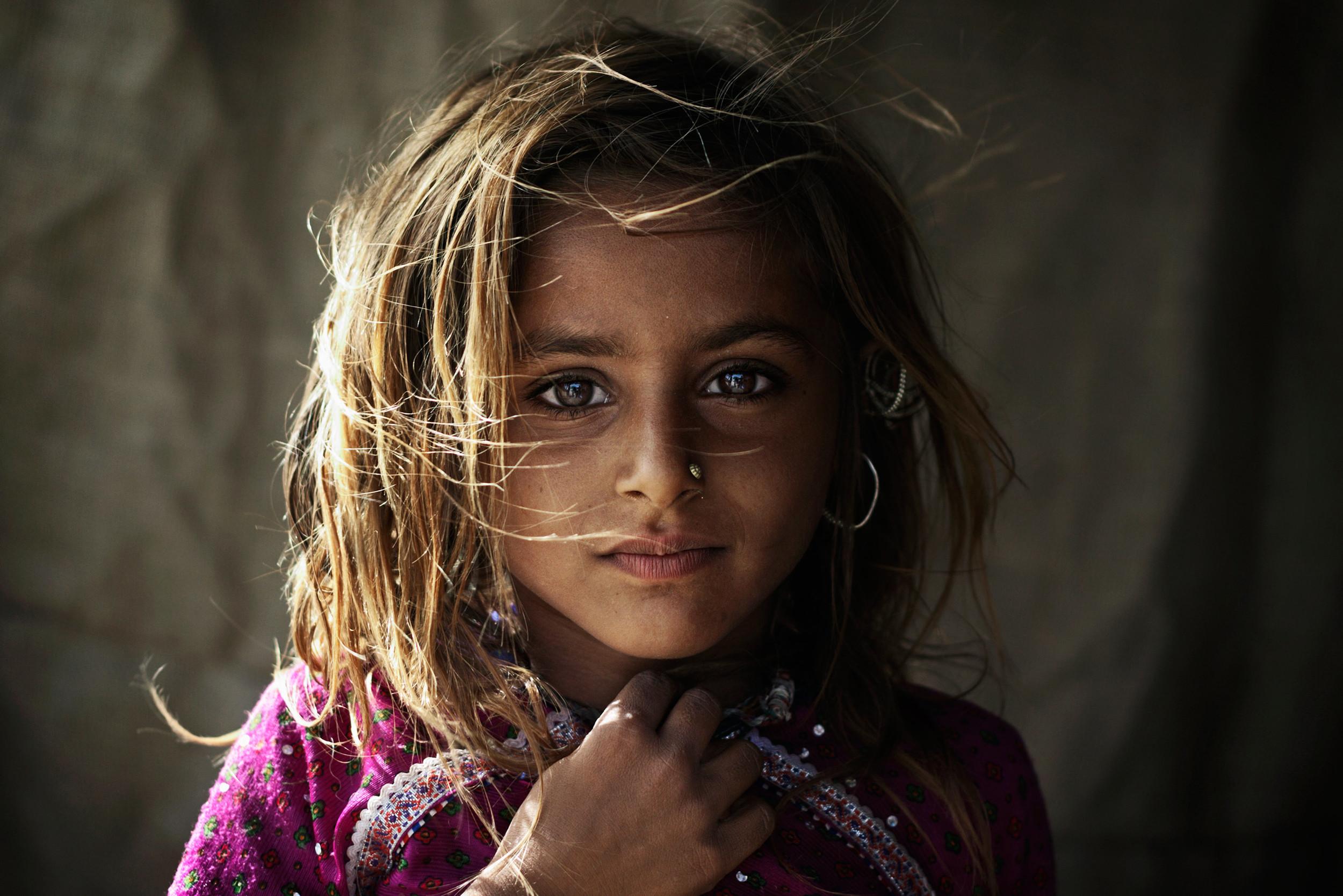 Rabari girl in Kutch.