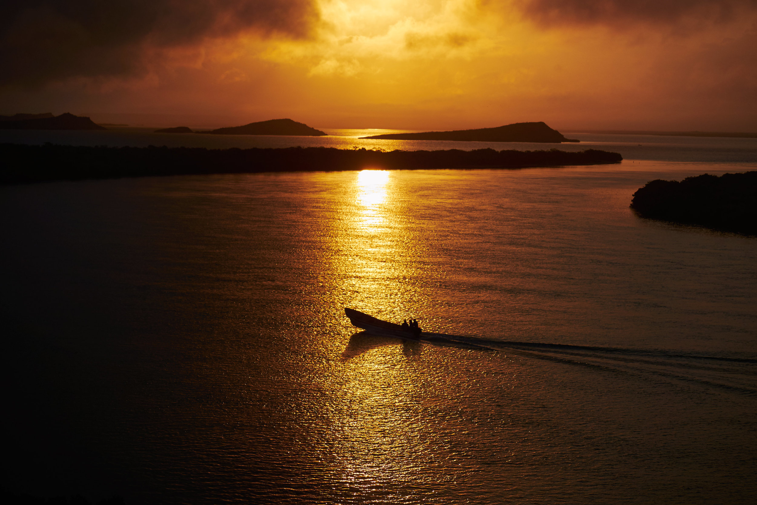 Sunrise over Bahia Hondita
