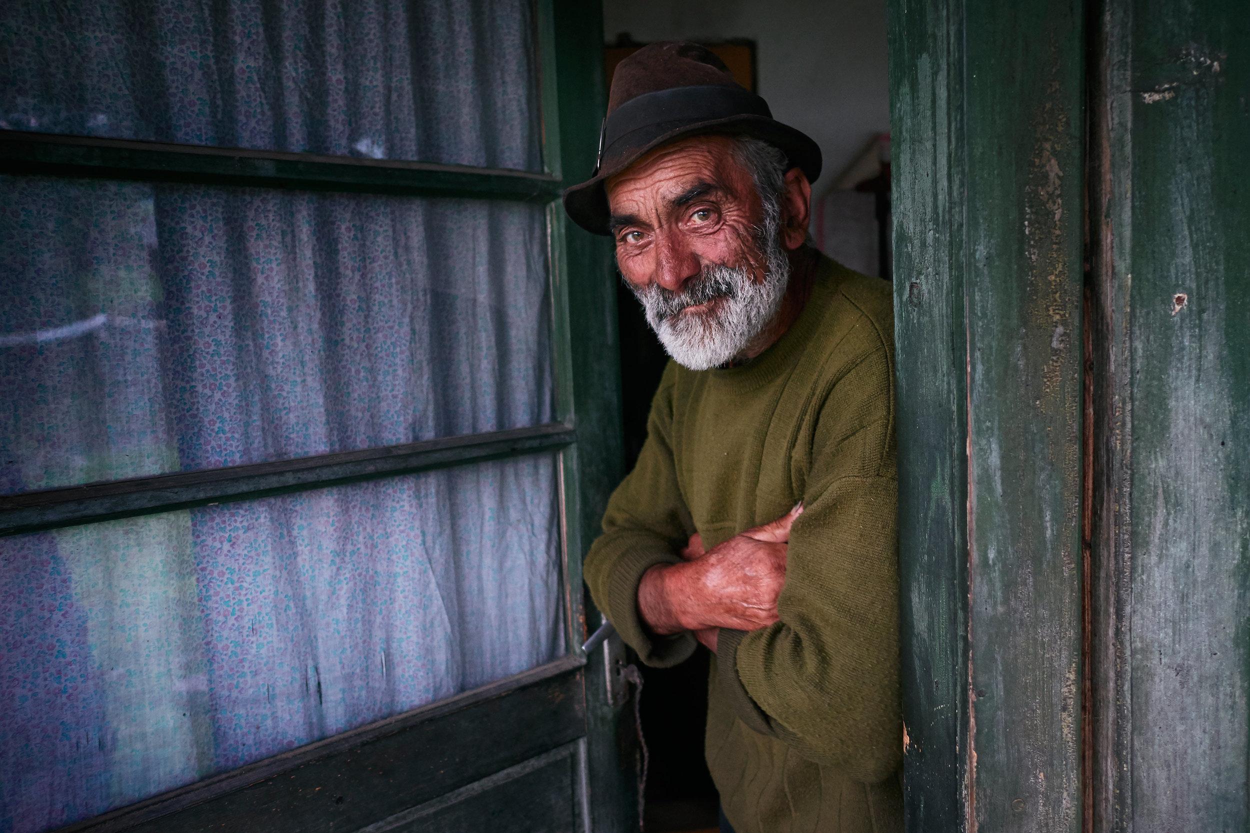 Maramures-Romania-portrait-of-an-elderly-man