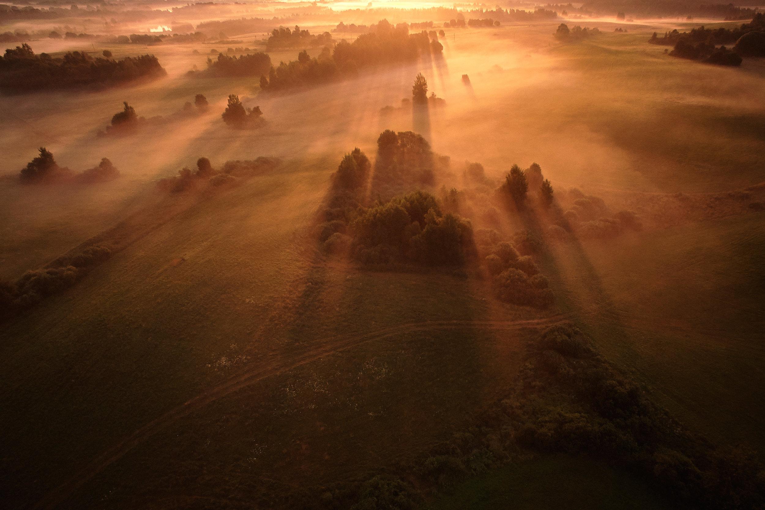 Braslav-Belarus-morning-sunrise-aerial