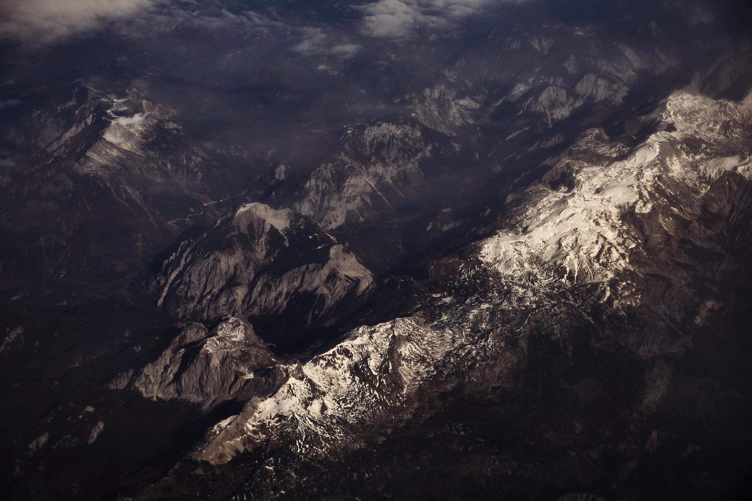 Georgia-mountains-from-airplane