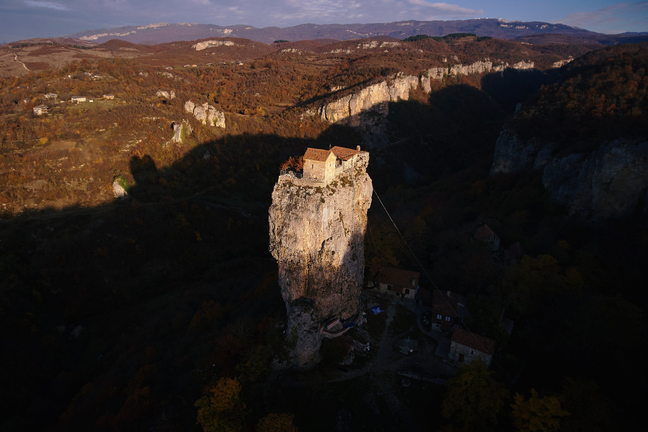 Georgia-Katskhi-pillar
