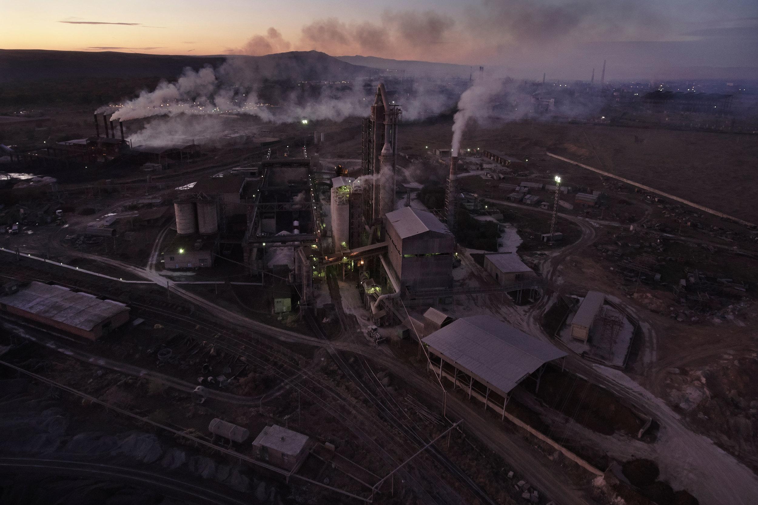 Georgia-Rustavi-factories