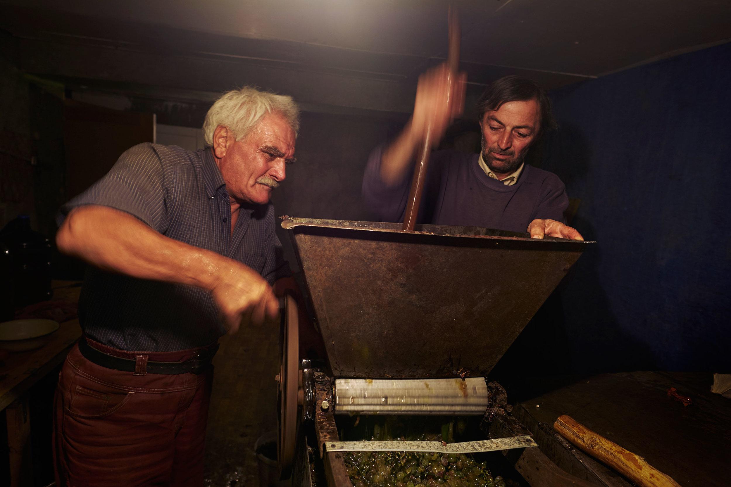 Georgia-Signakhi-wine-making