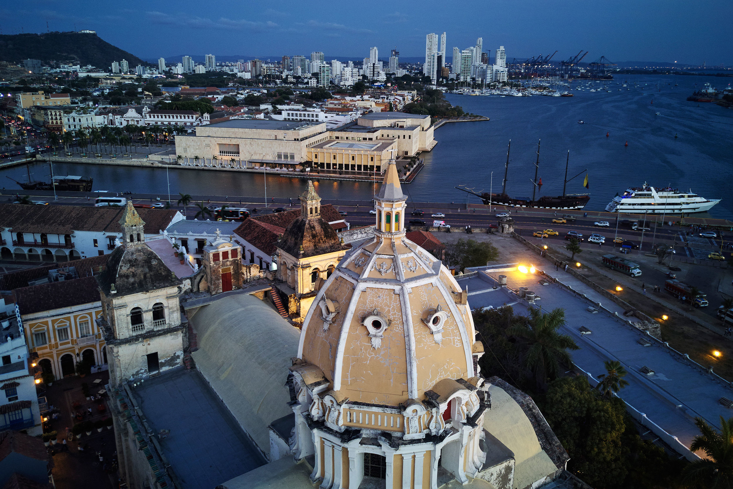 Cartagena-Colombia-view-from-above