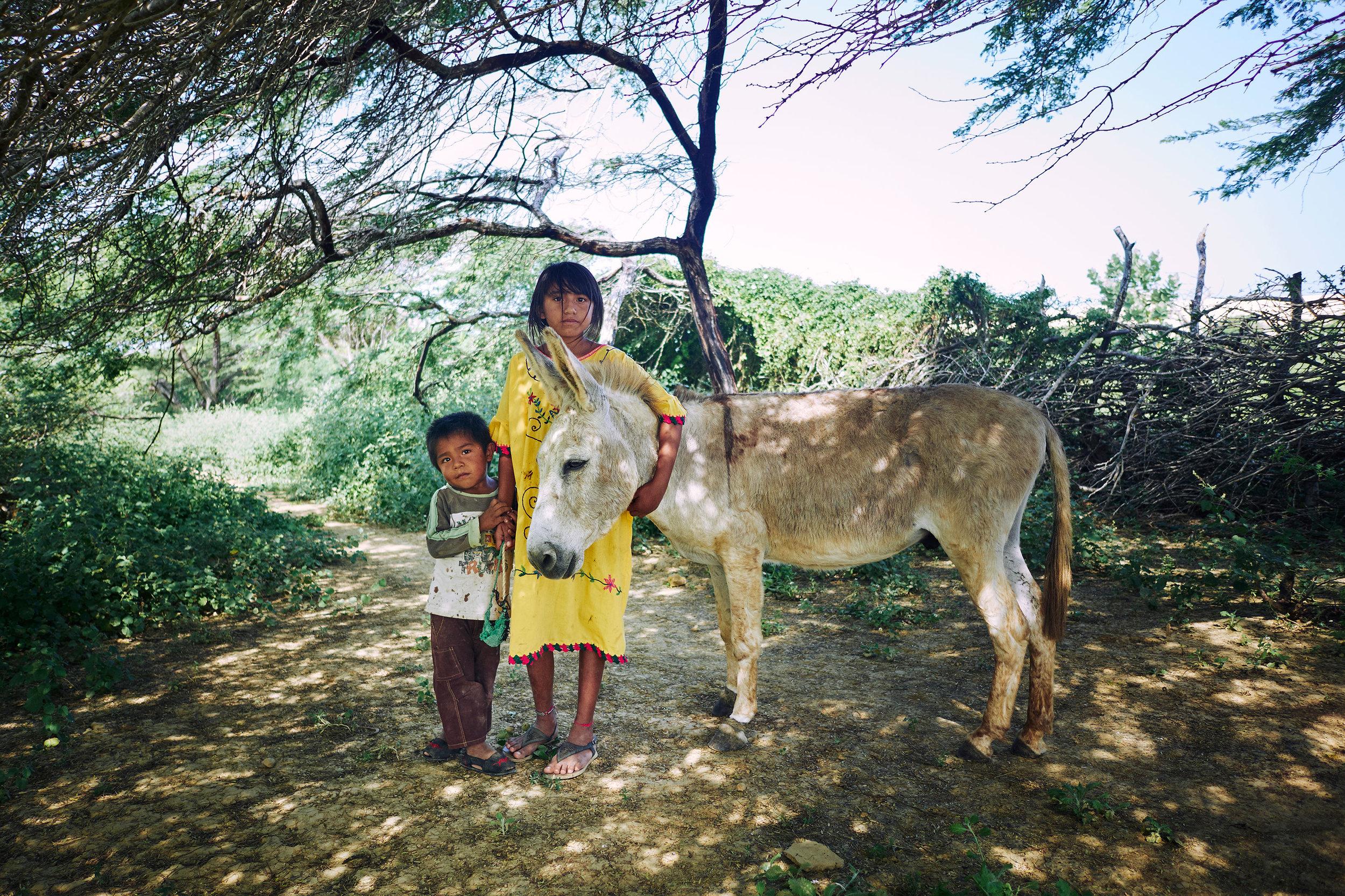 Colombia-La-Punta-Gallina-Wayuu-children