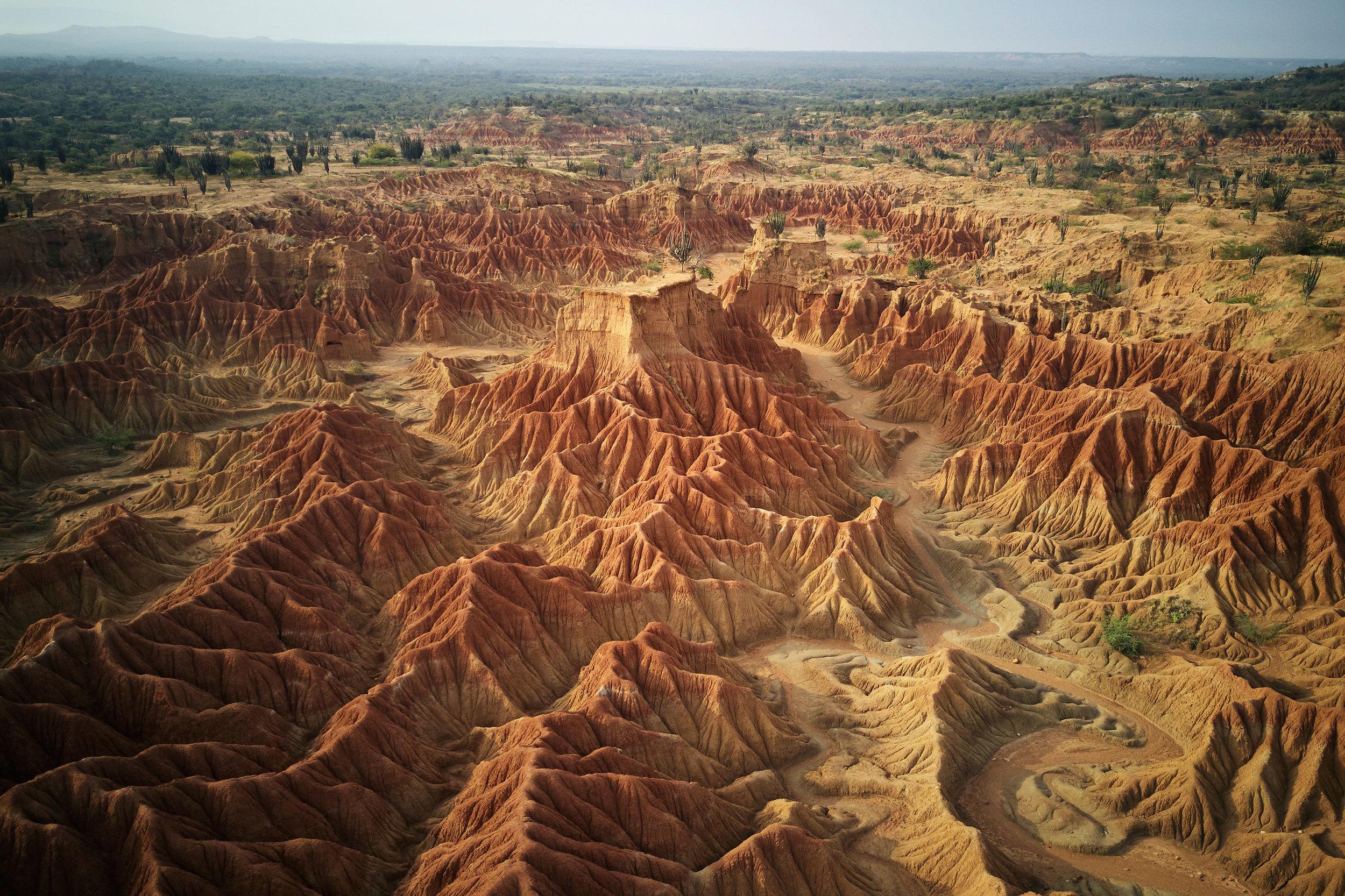 Colombia-travel-Tatacoa-desert-landscape