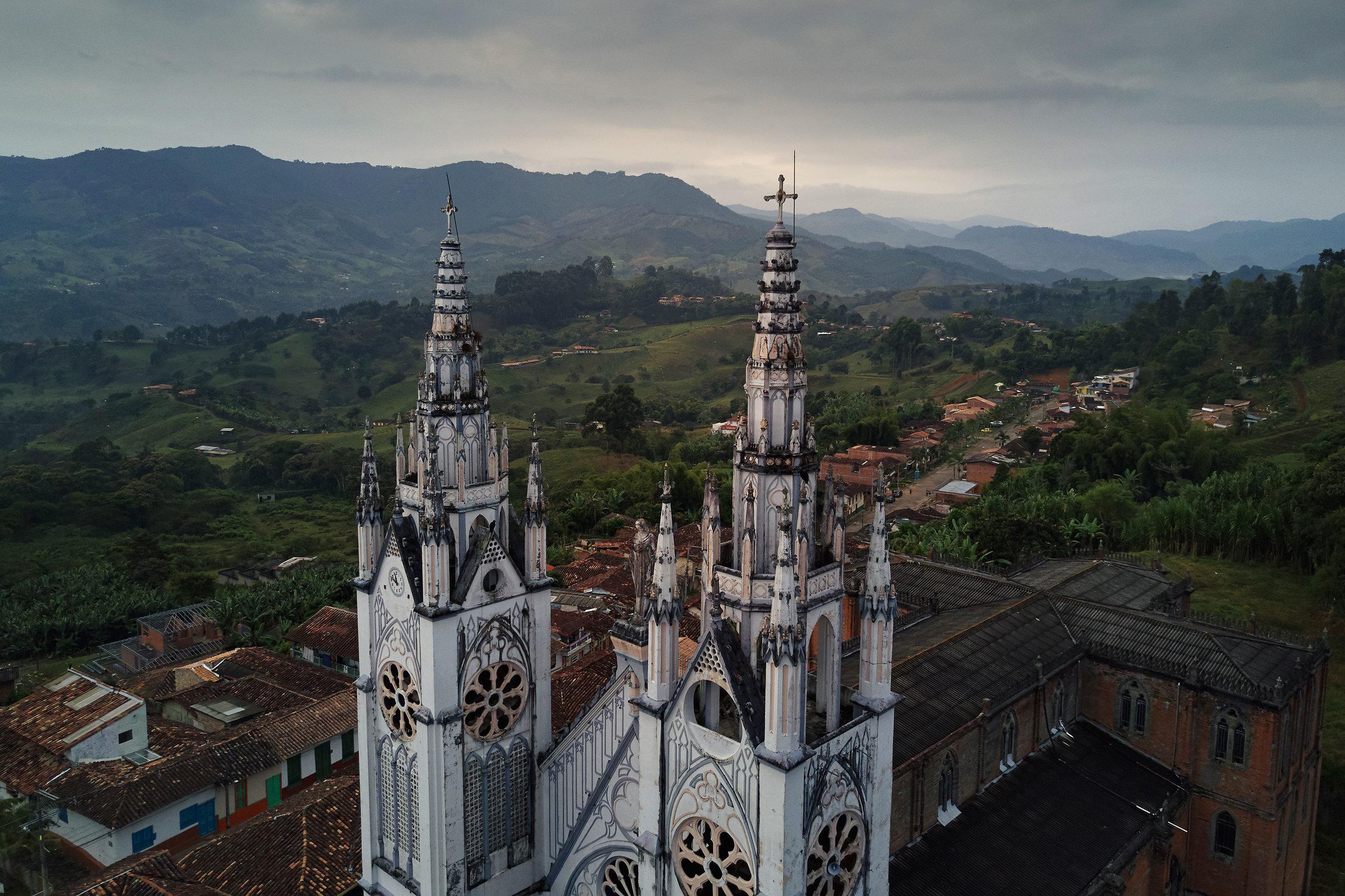 Colombia-travel-Jerico-church
