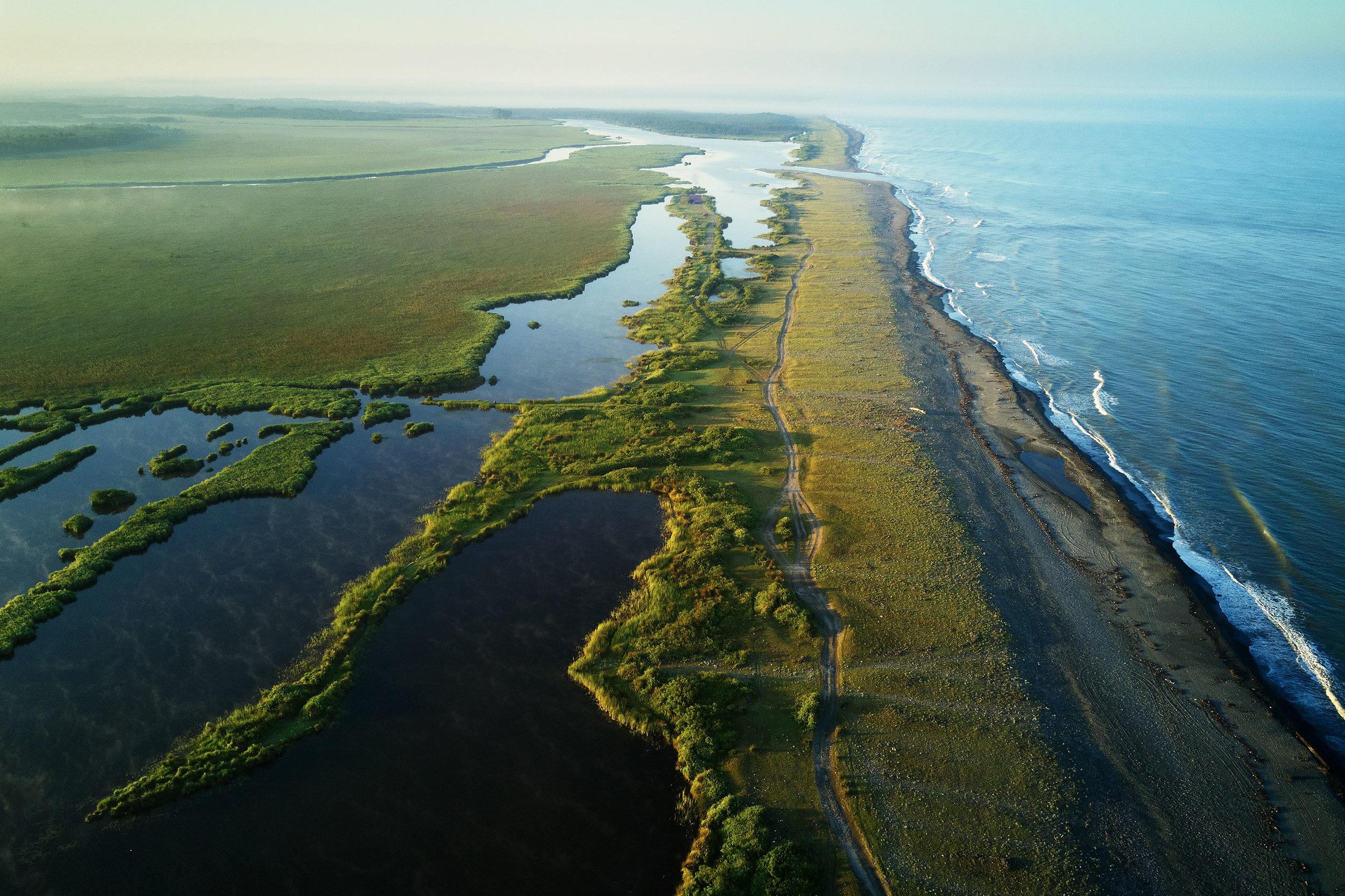 Anaklia-Georgia-beach-and-swamp