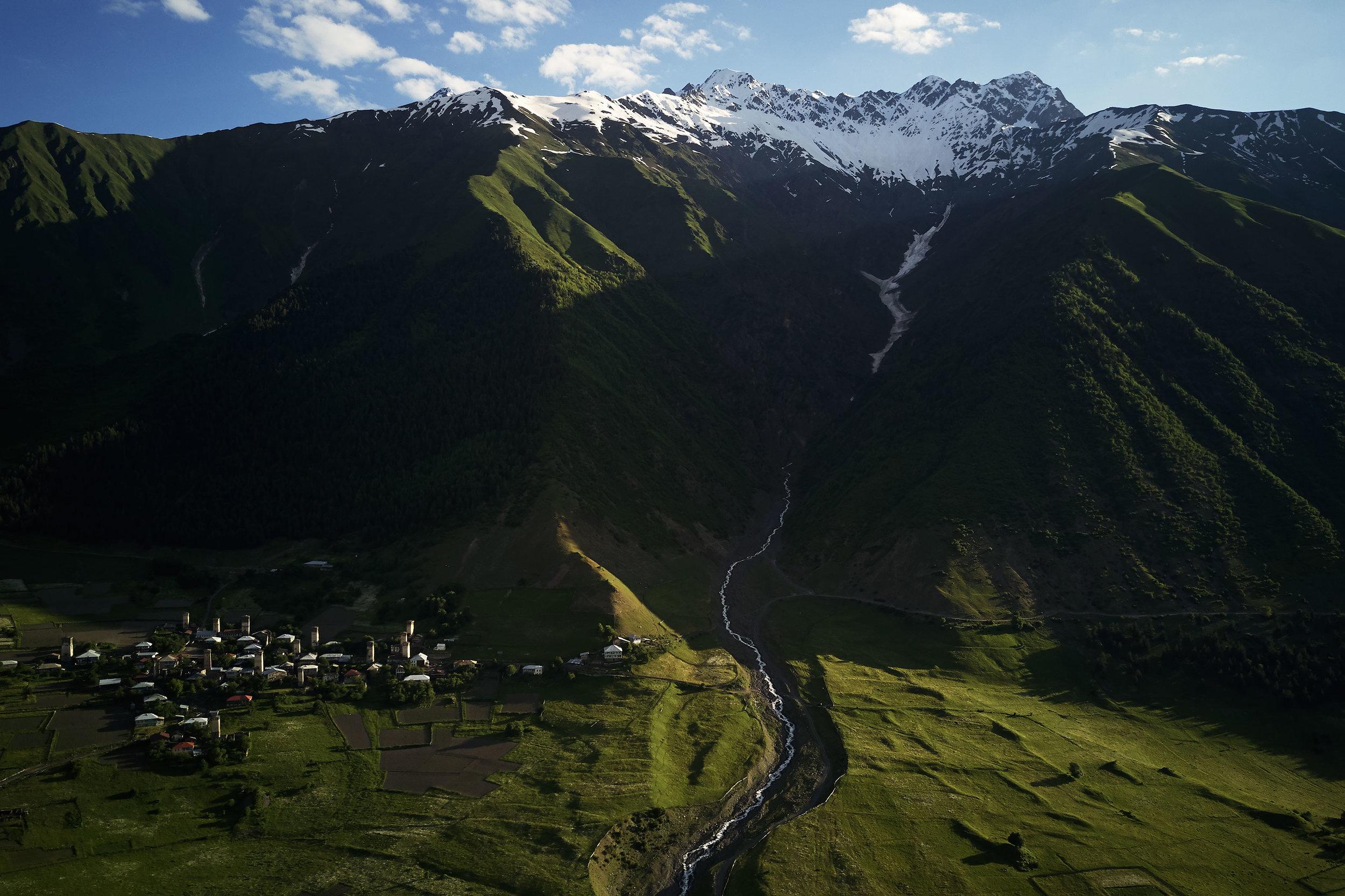 Svaneti-Mountain-village