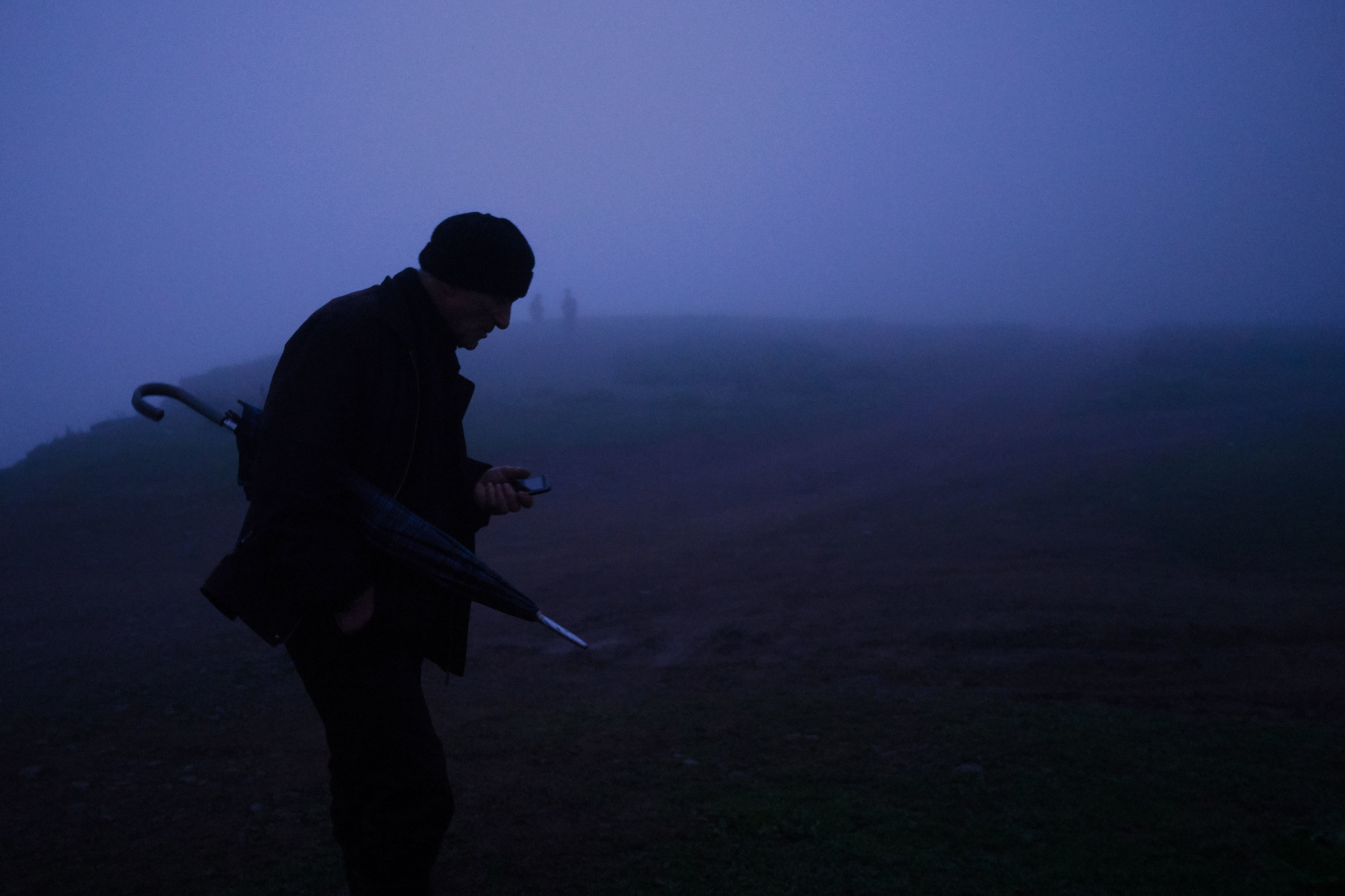 Bakhmaro-Georgia-man-in-fog