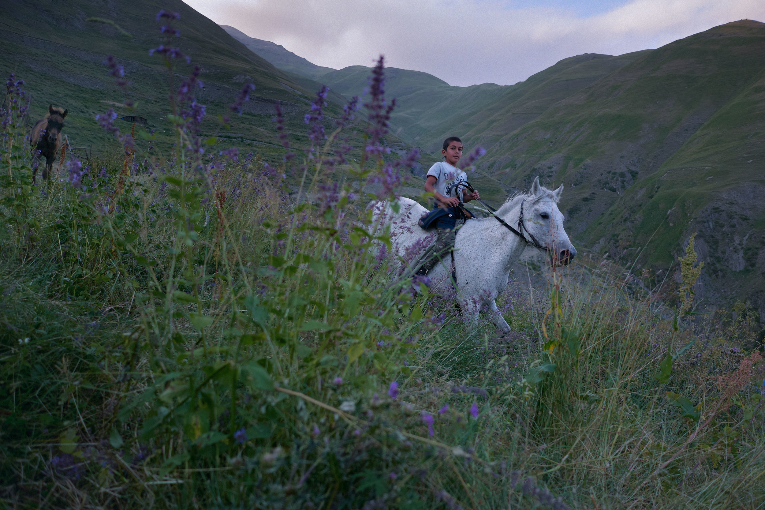 Tusheti-Georgia-boy-on-horse