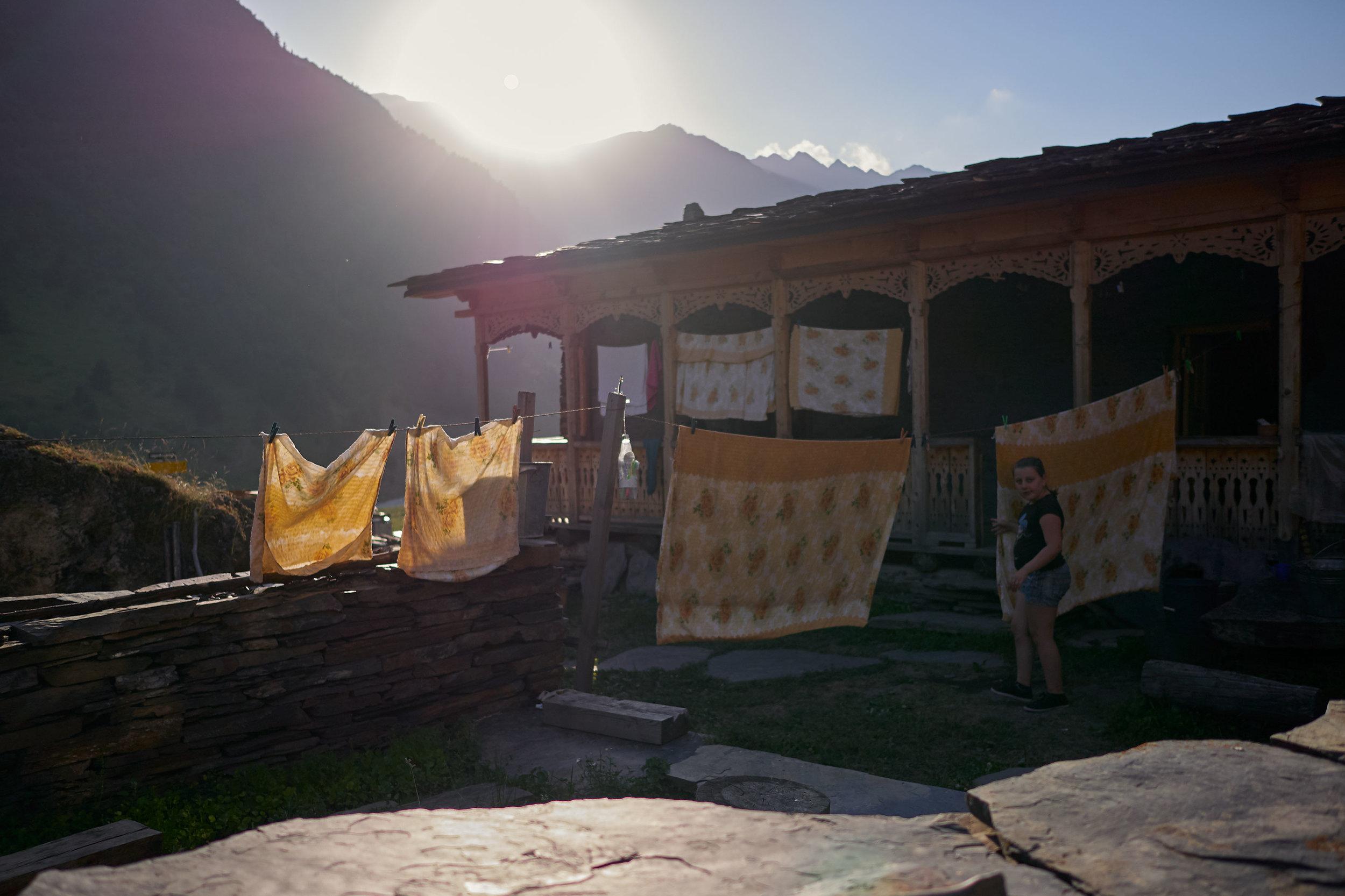 Tusheti-Georgia-Laundry-drying
