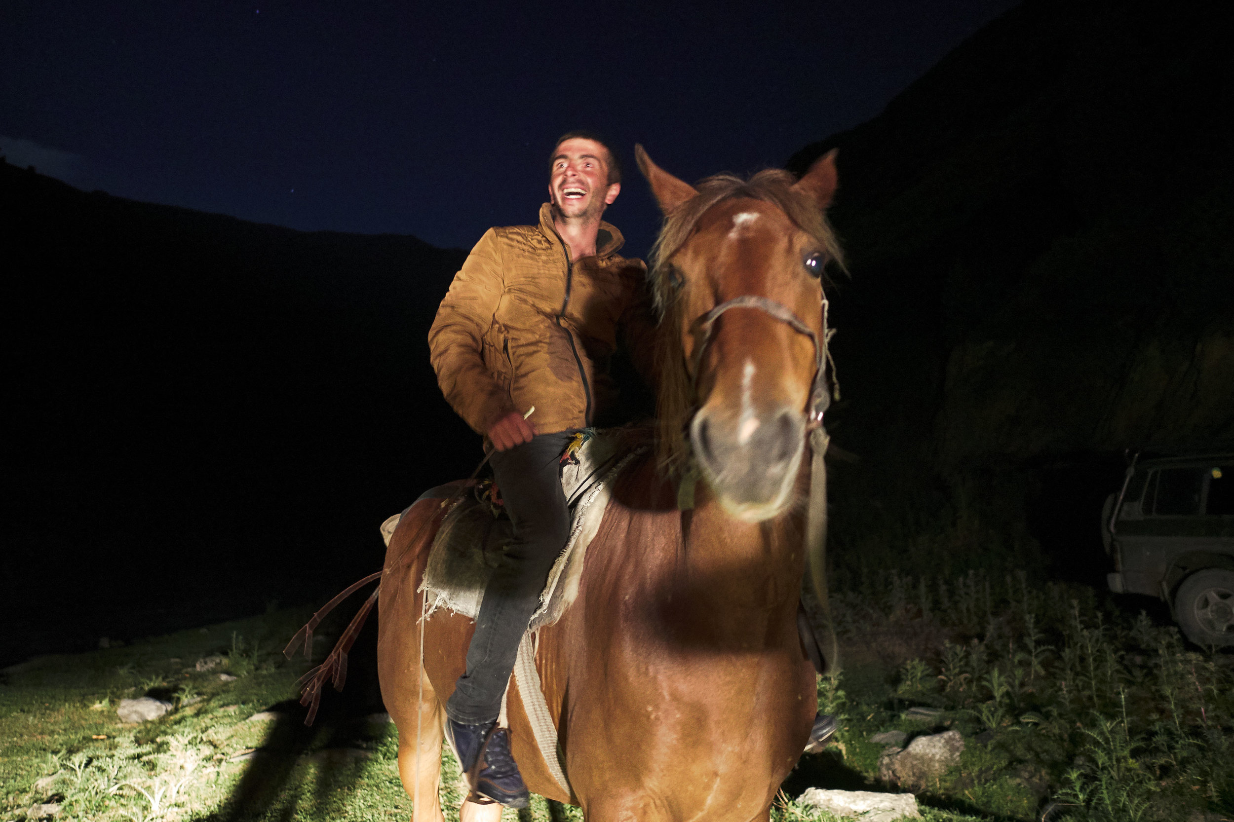 Tusheto-Georgia-happy-man-on-horse