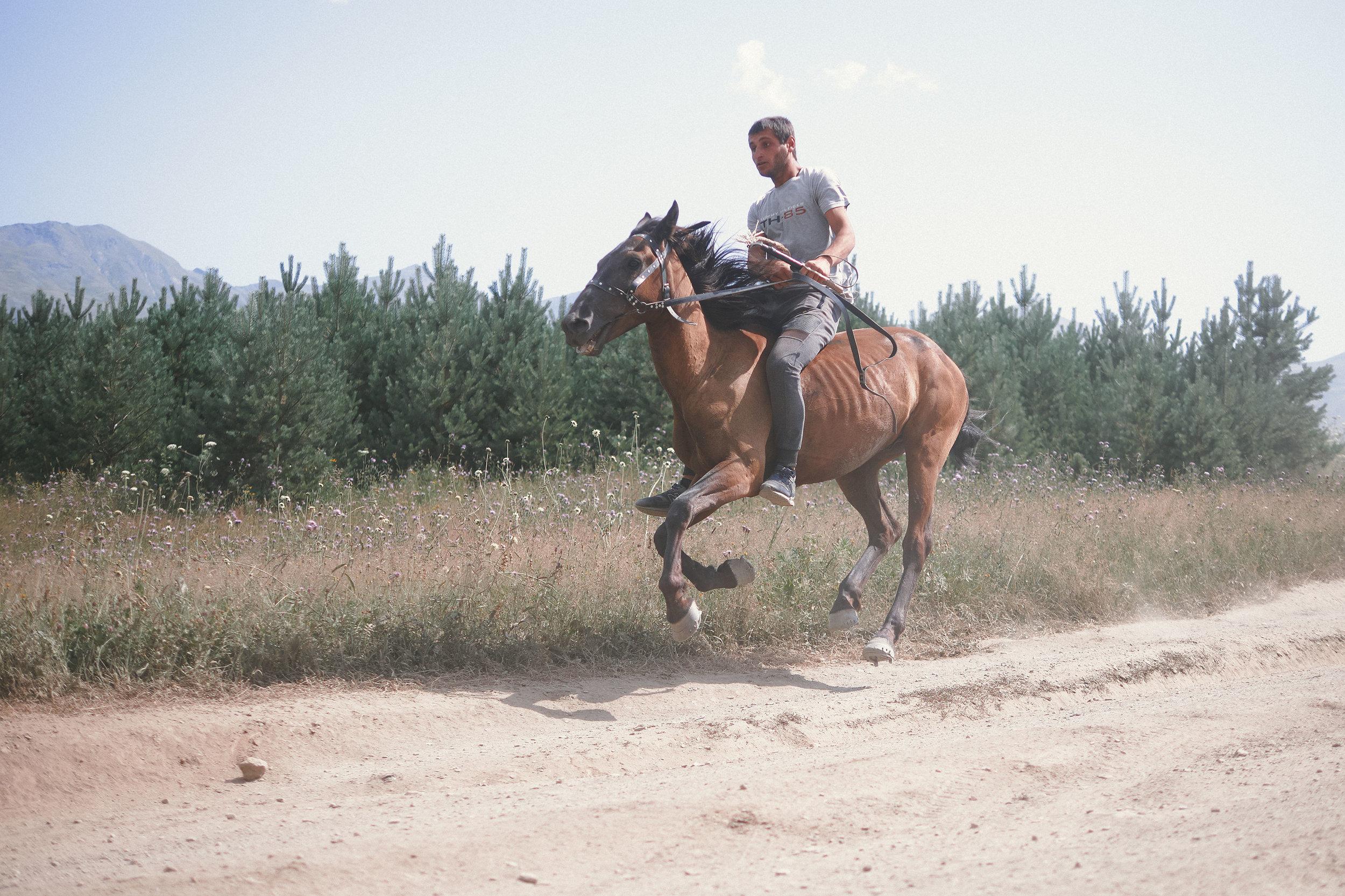 Tusheto-Georgia-horseracing