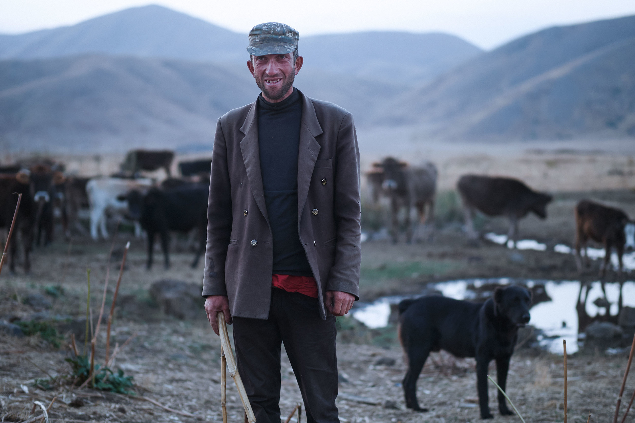 Armenia-Vayots-Sar-portrait-shepherd