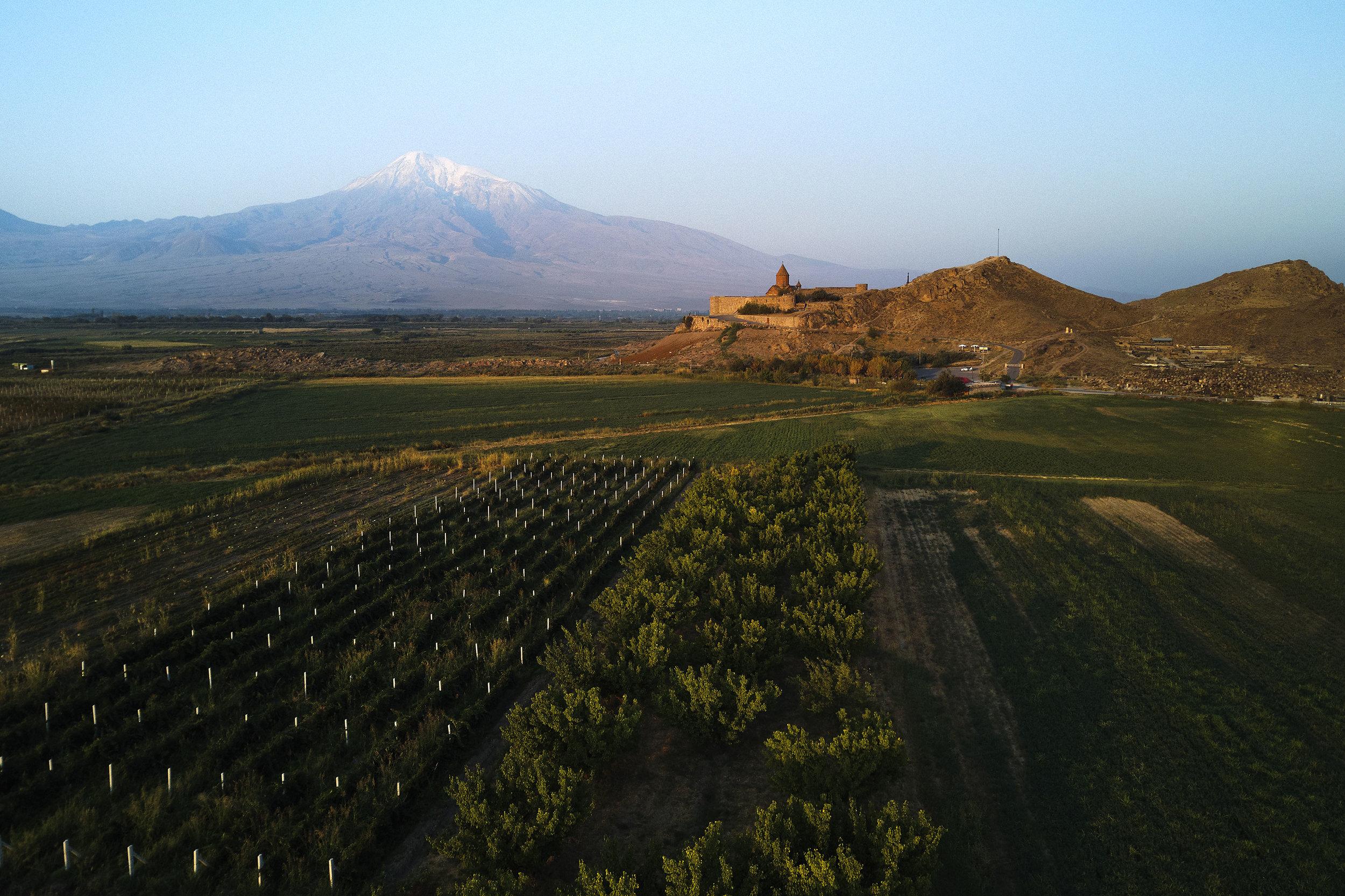 Armenia-Khor-Virap-aerial