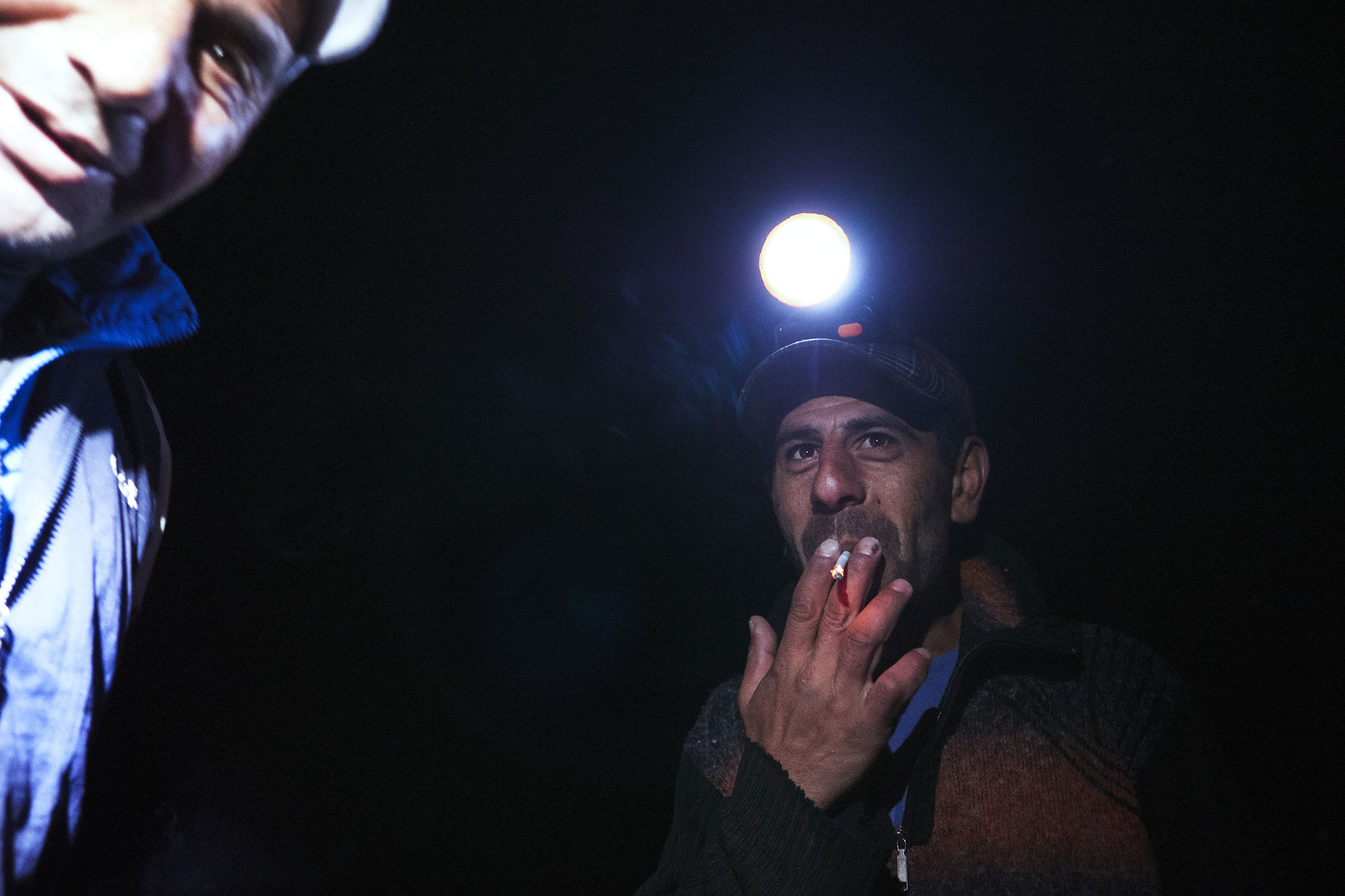 Armenia-fishermen-on-Lake-Sevan-at-night