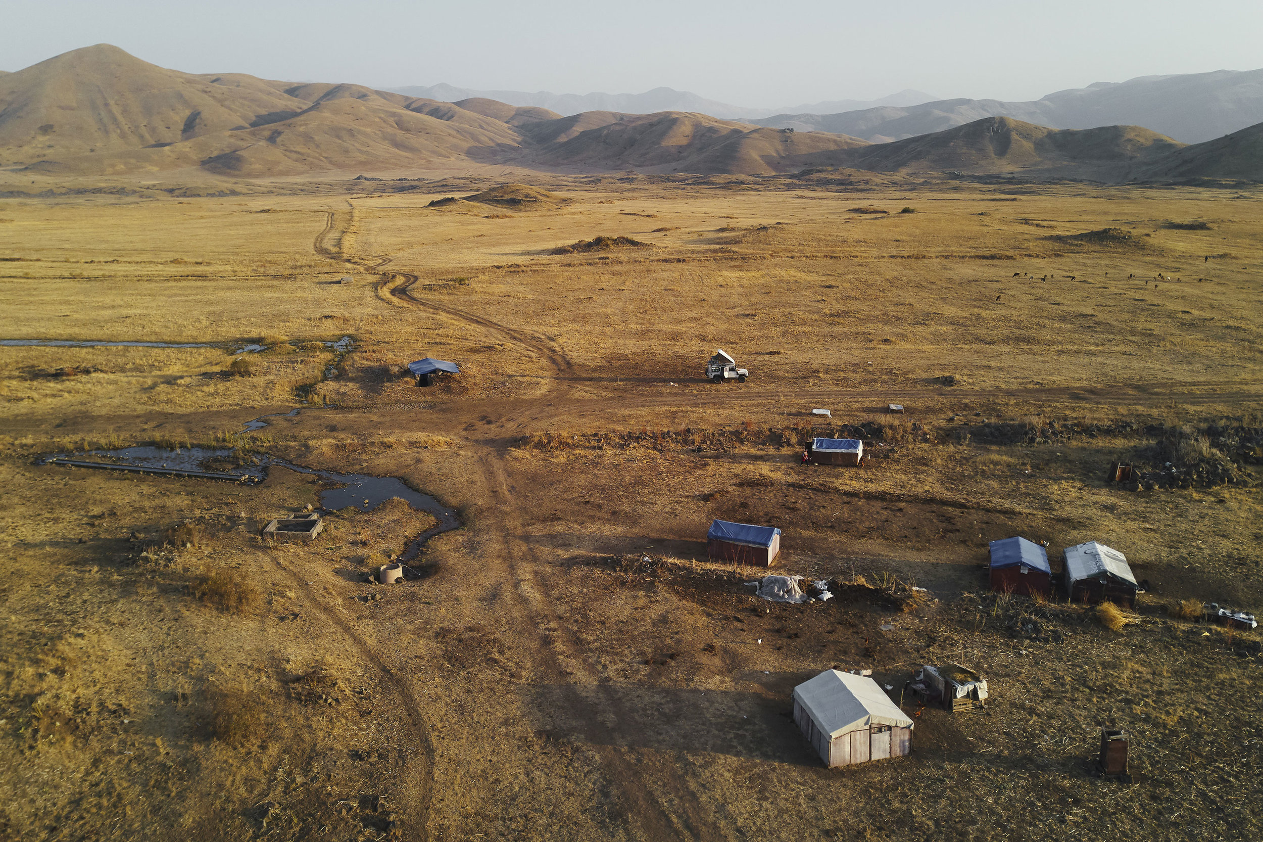 Armenia-Vayots-Sar-camping
