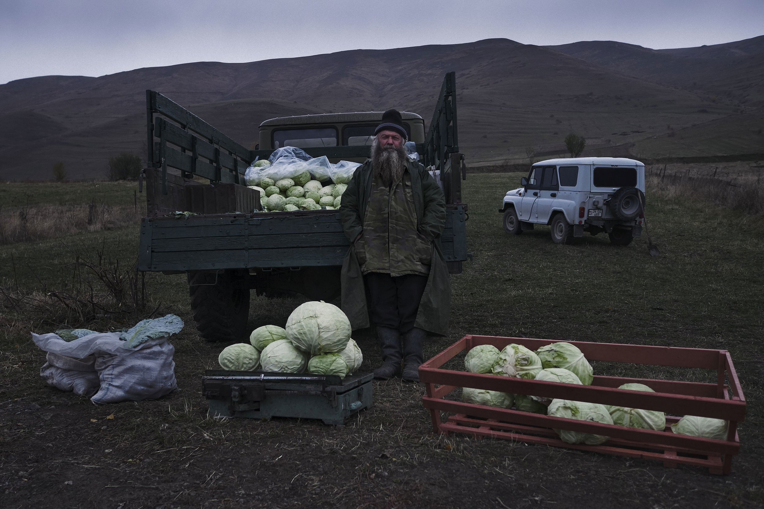 Cabbage seller molokan