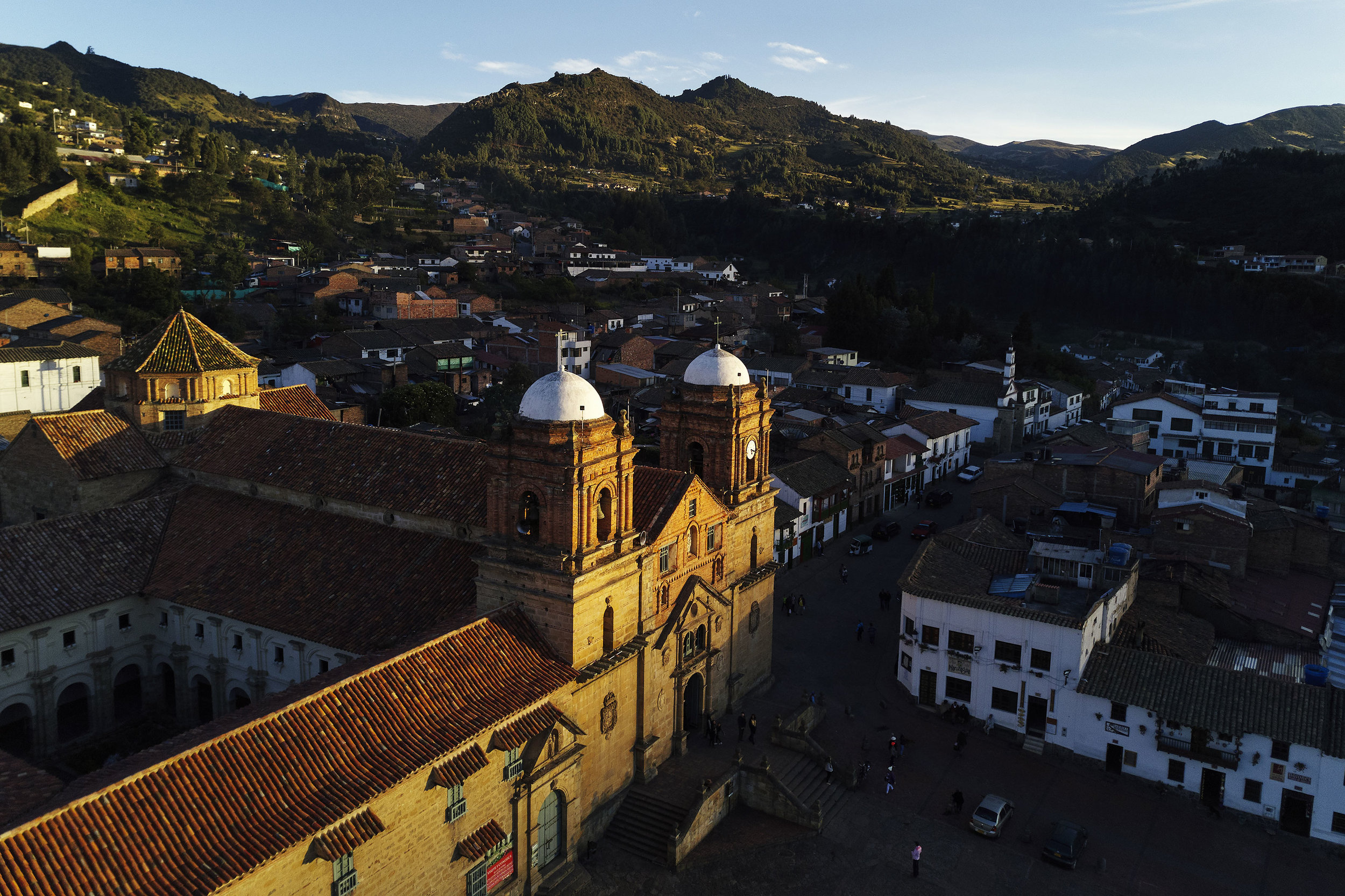 Town of Mongui from above