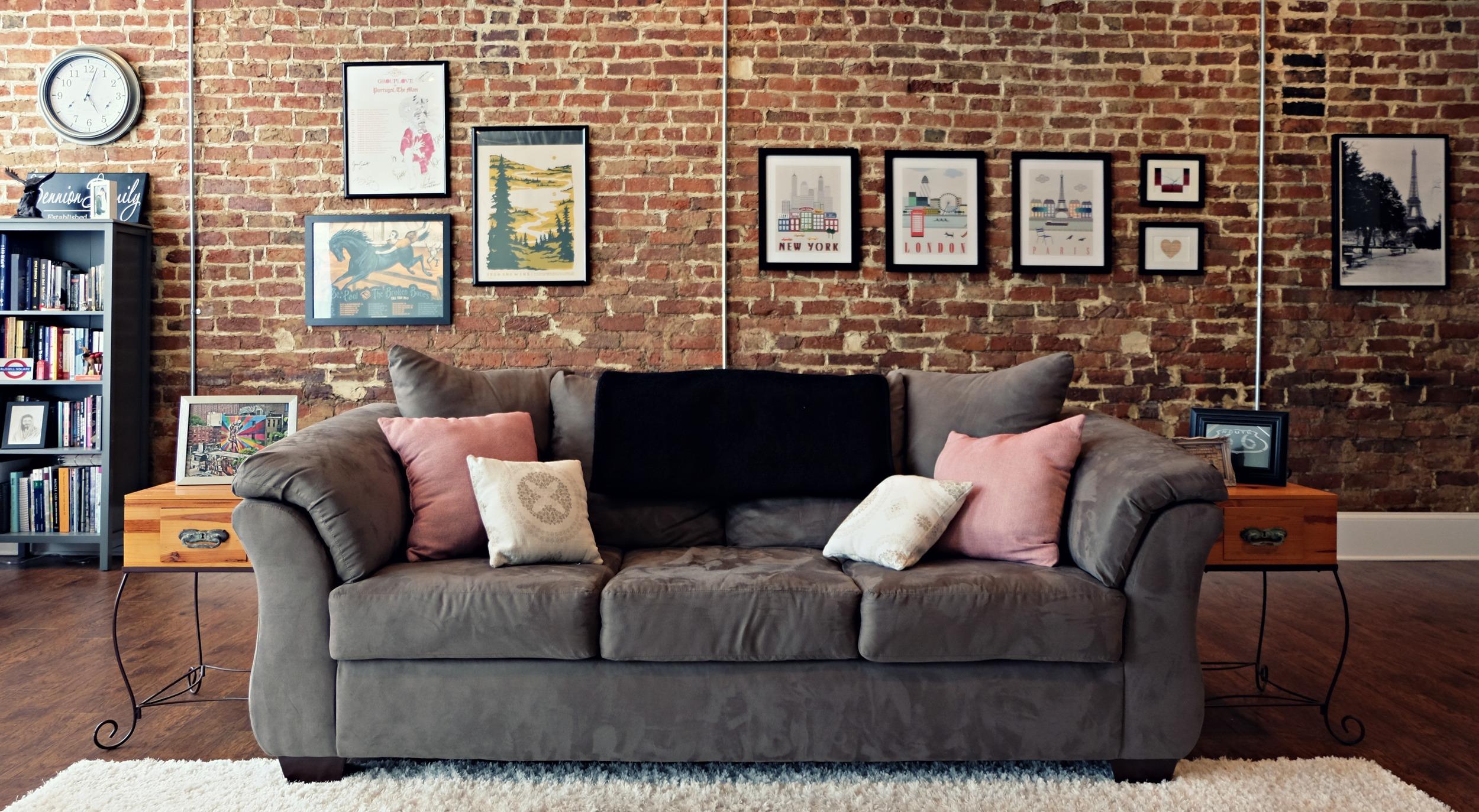 Couch --  Darcy in Cobblestone