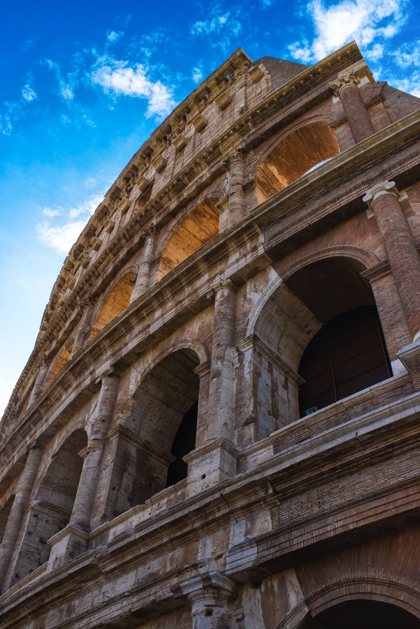 The Roman Colosseum  |  Rome, Italy