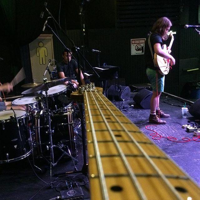 Bass vision soundcheck @exit_in @lightning100 #ellistonplacestreetfest