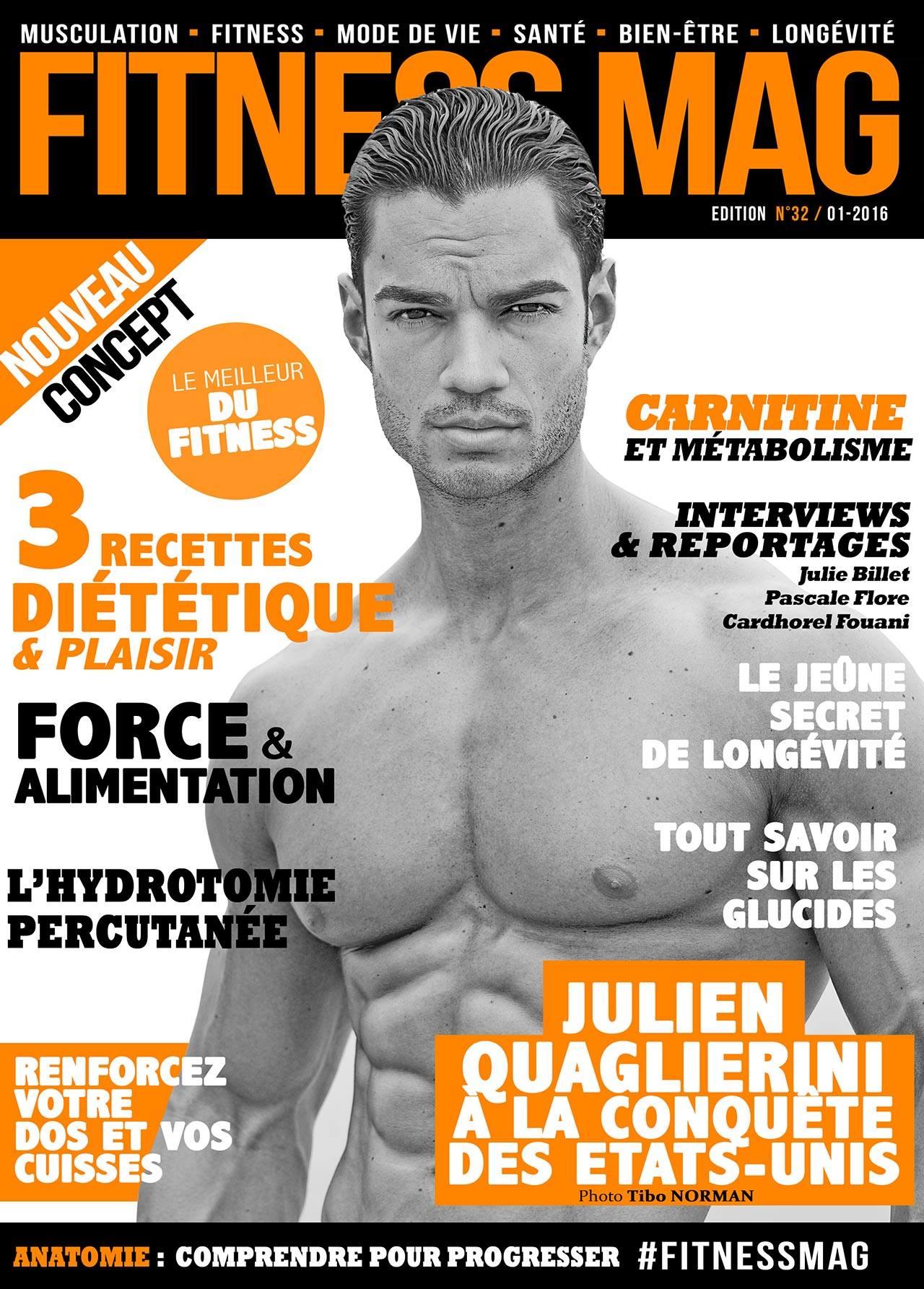 Fitness Mag (cover model: Julien Quaglierini)