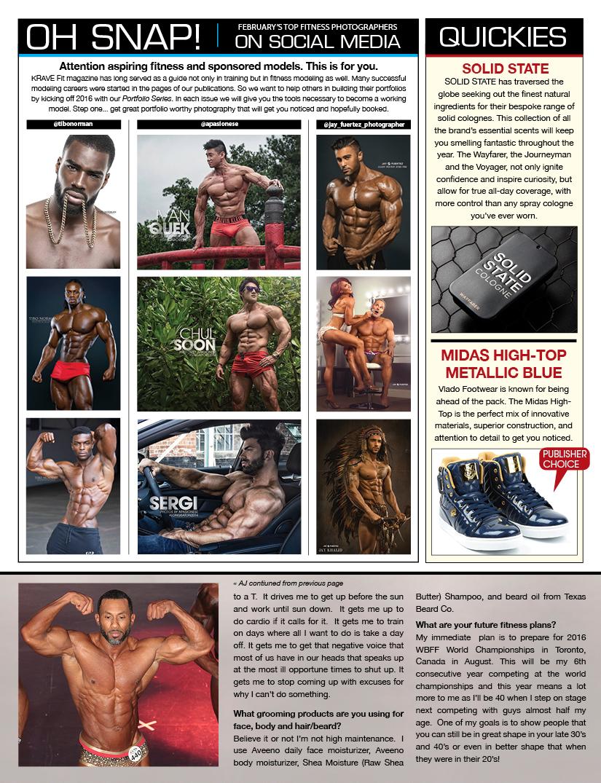 KraveFit magazine