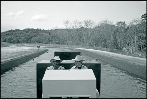 Pilots navigate the replica Culebra Cut at the Summit Training Grounds. April 2016.