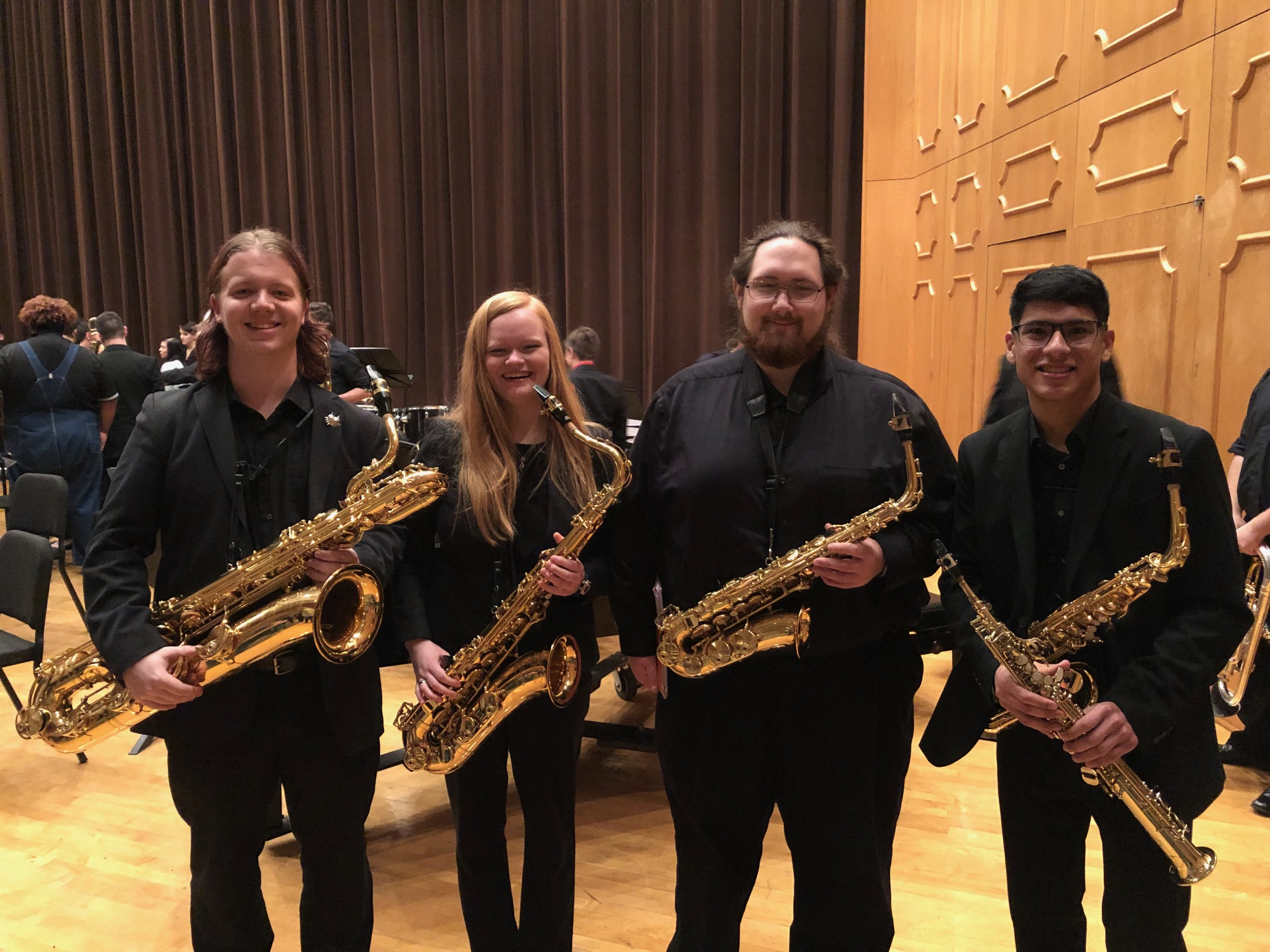 2019 NSU Wind Symphony Section