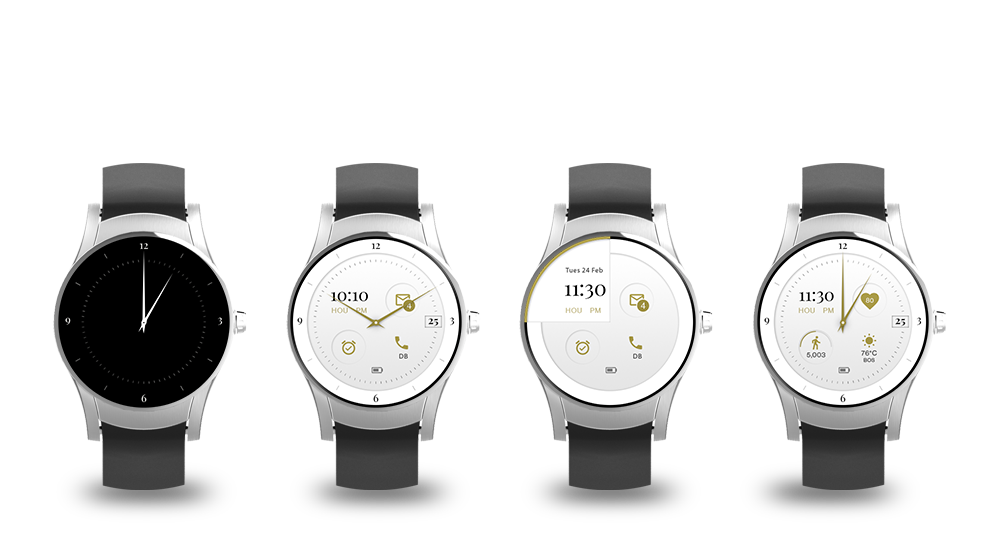 Verizon Wear24 Smart Watch  Company / Verizon Wireless  Smart watch UI design for Verizon Wear24.