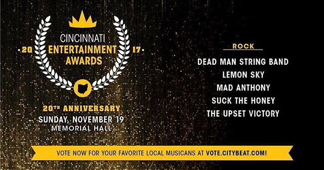 Last day to vote gang! Vote.citybeat.com