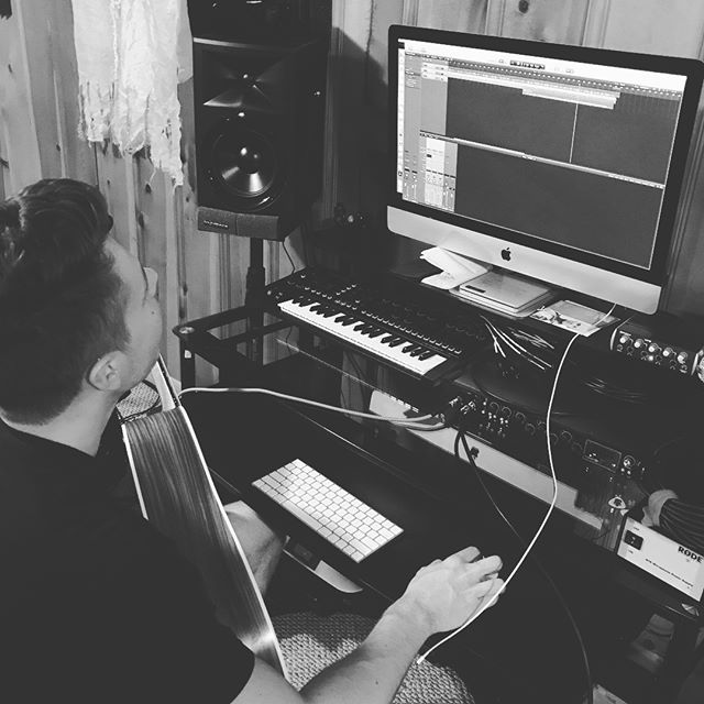 Writin', demoin', pre-pro-in'. New TUV songs for you in 2018. 😎🎧🎤