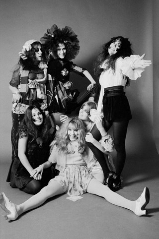 LA Groupies 1968 - photos Baron Wolman