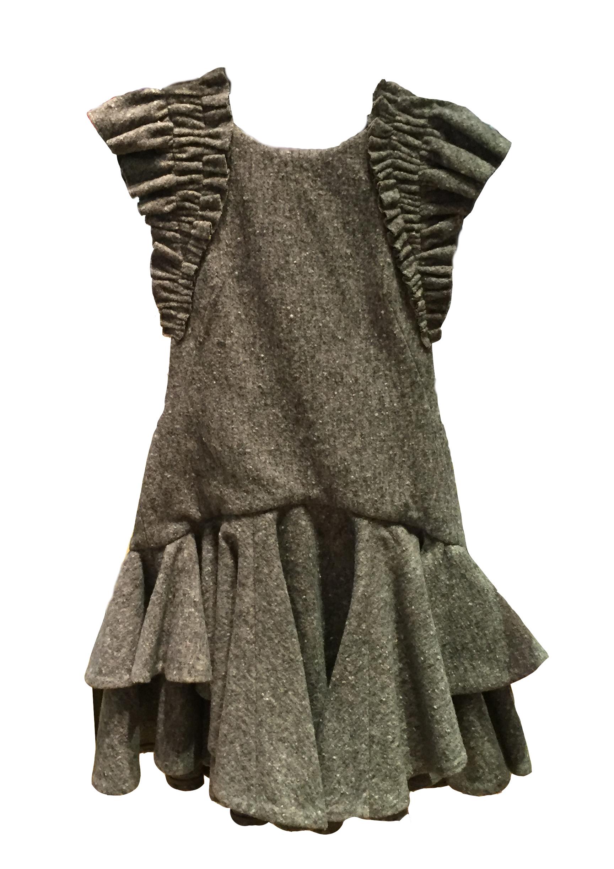 Kelsey Randall Felt Dress F/W16